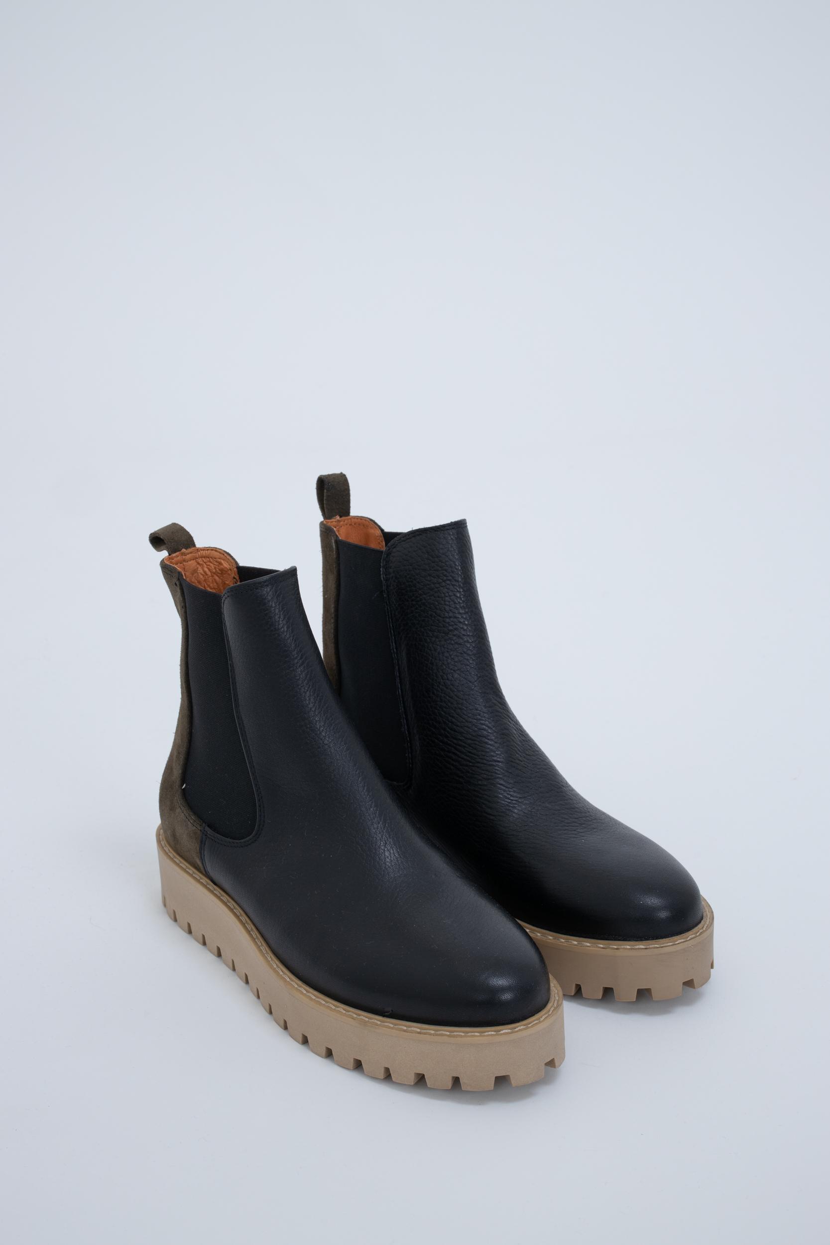Boots Mina Chelsea Salvia Suede