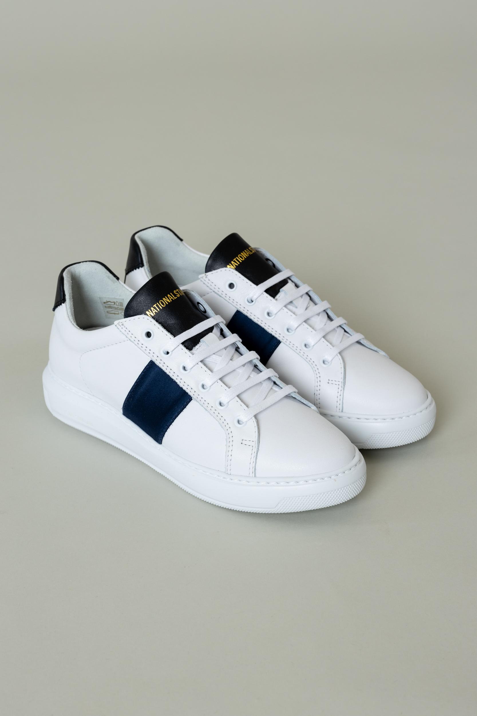 Sneaker Navy Satin