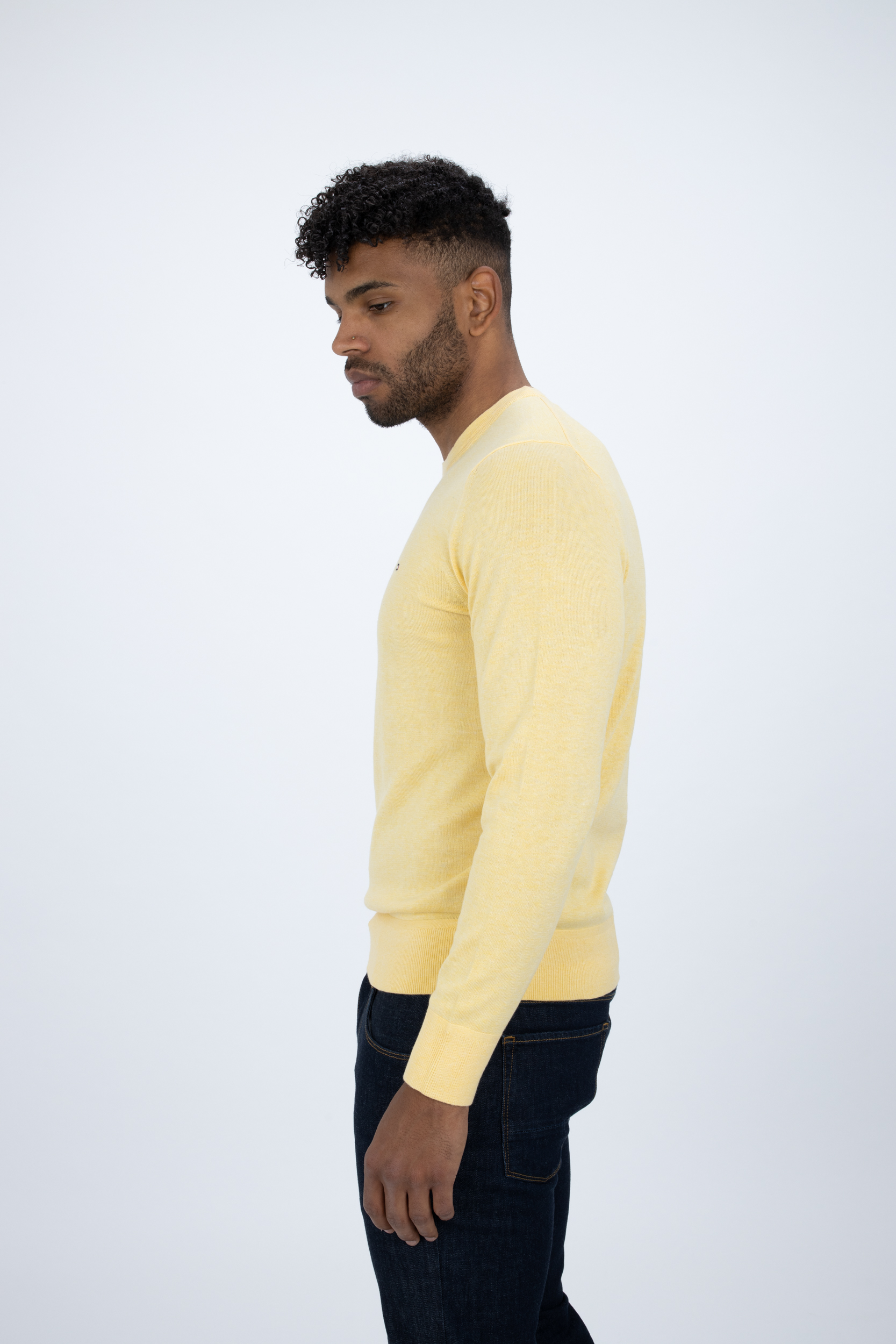 Pullover aus Bio-Baumwoll-Seidenmix