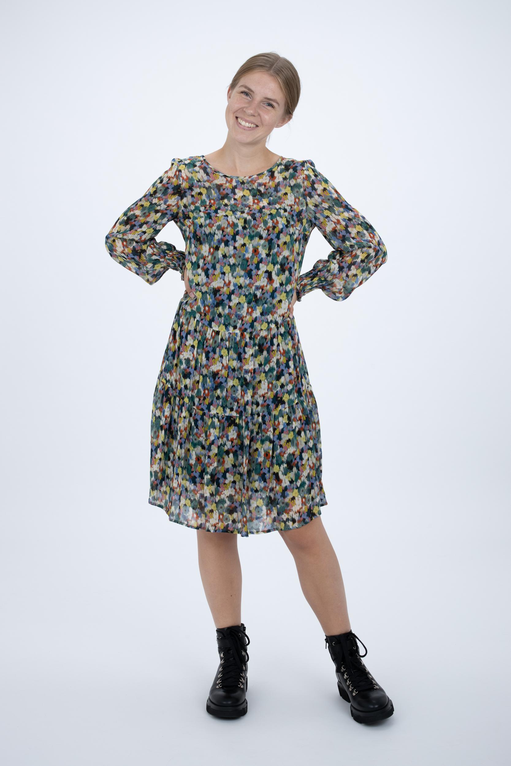 Kleid mit Blossom-Print
