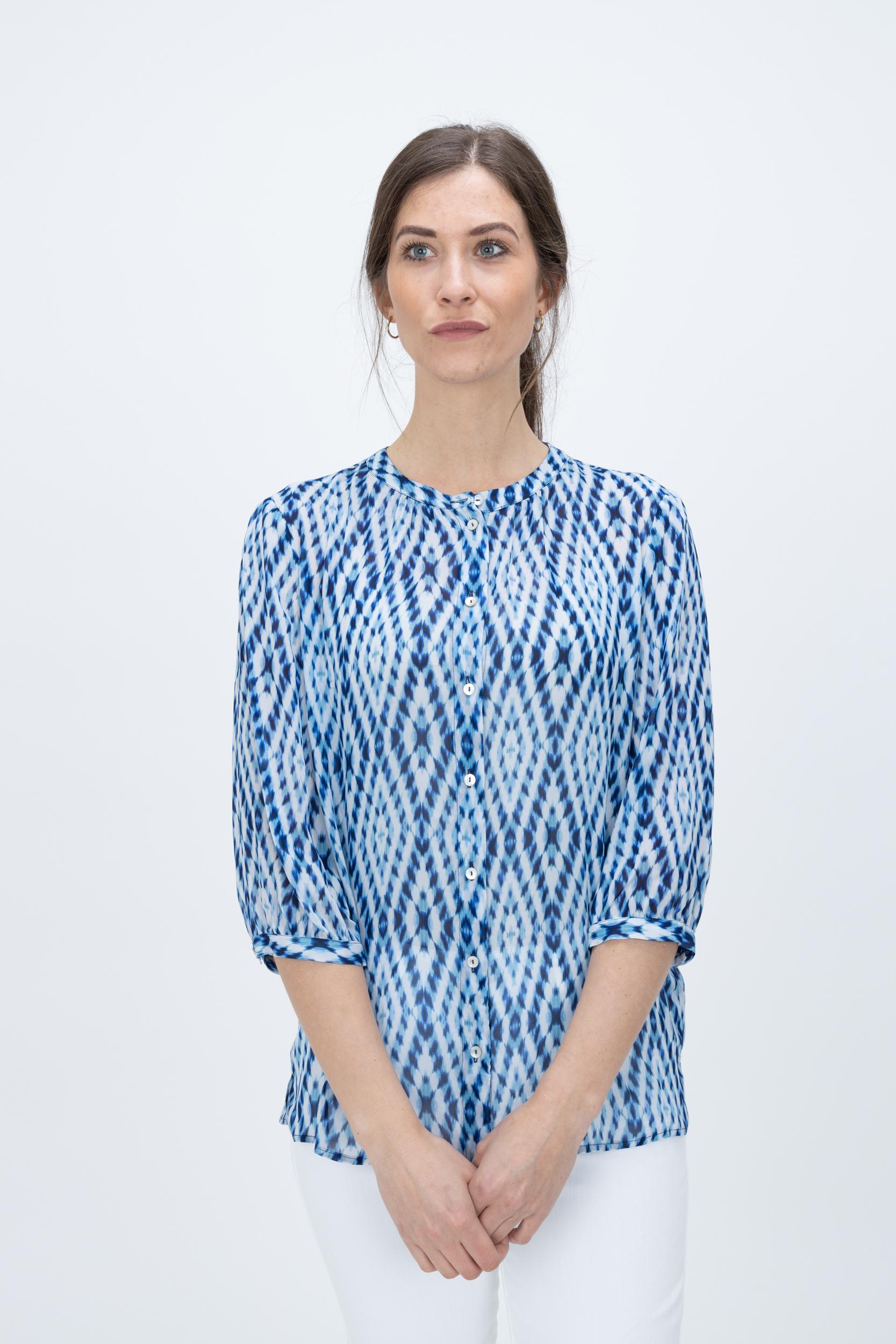 Bluse Maia mit Tie-Dye Print