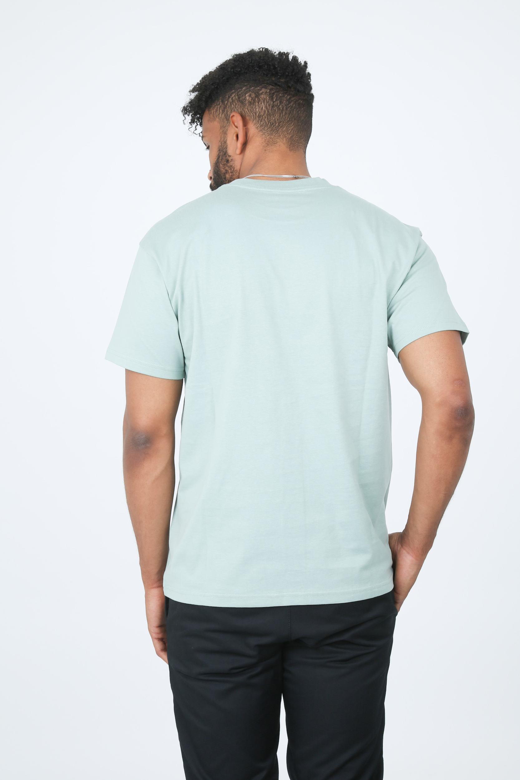 T-Shirt Script Embroidery