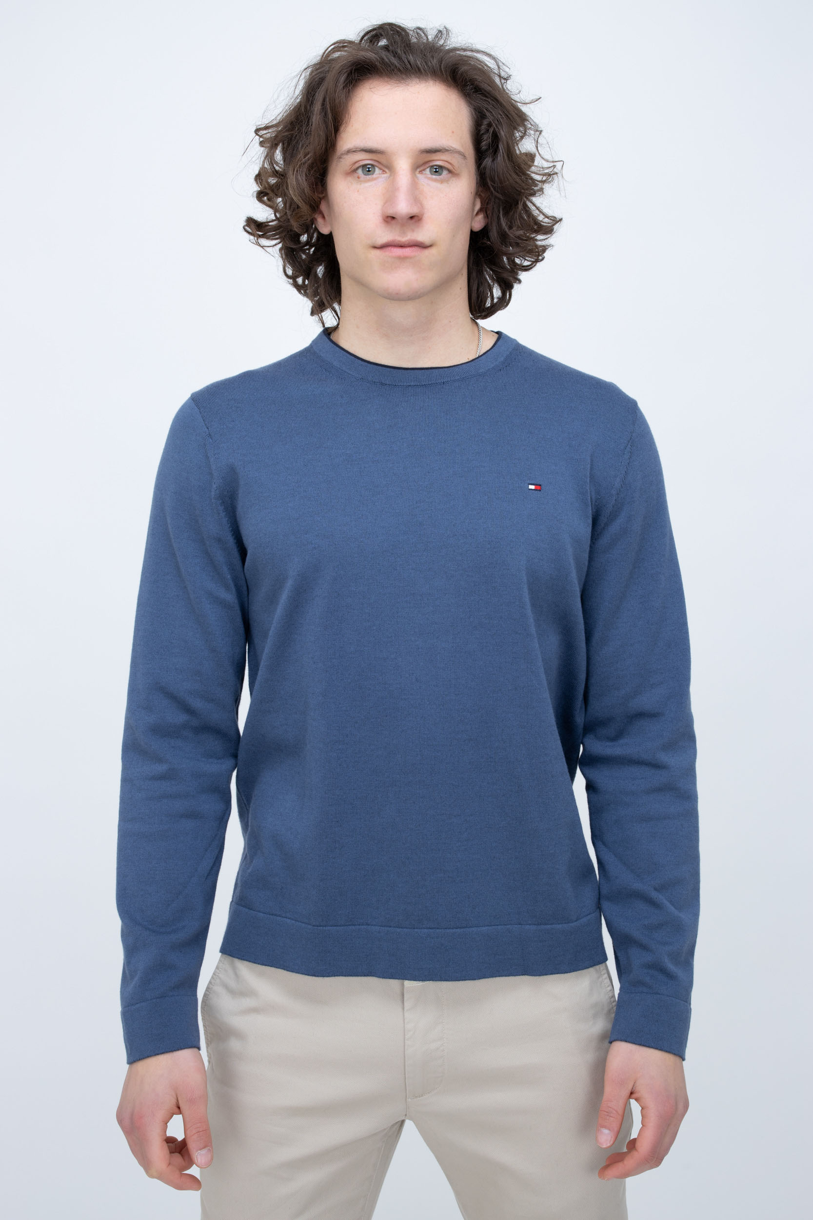 Pullover Tipped Double Face