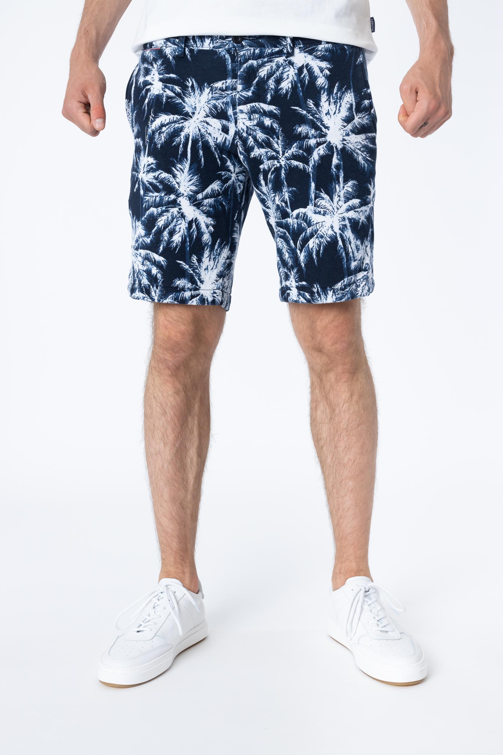 Shorts Brooklyn Terry Palm Print