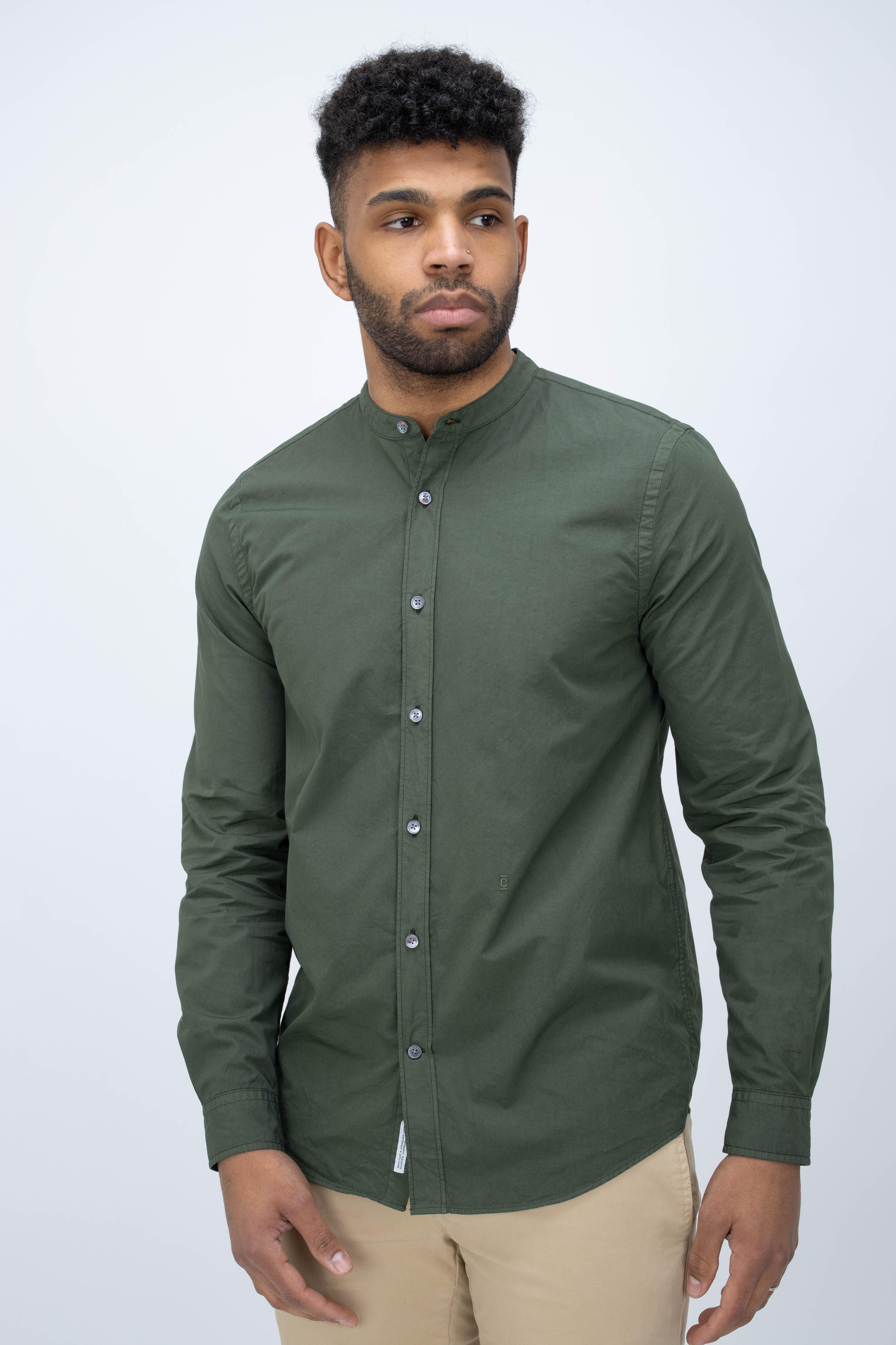 Shirt Collarless