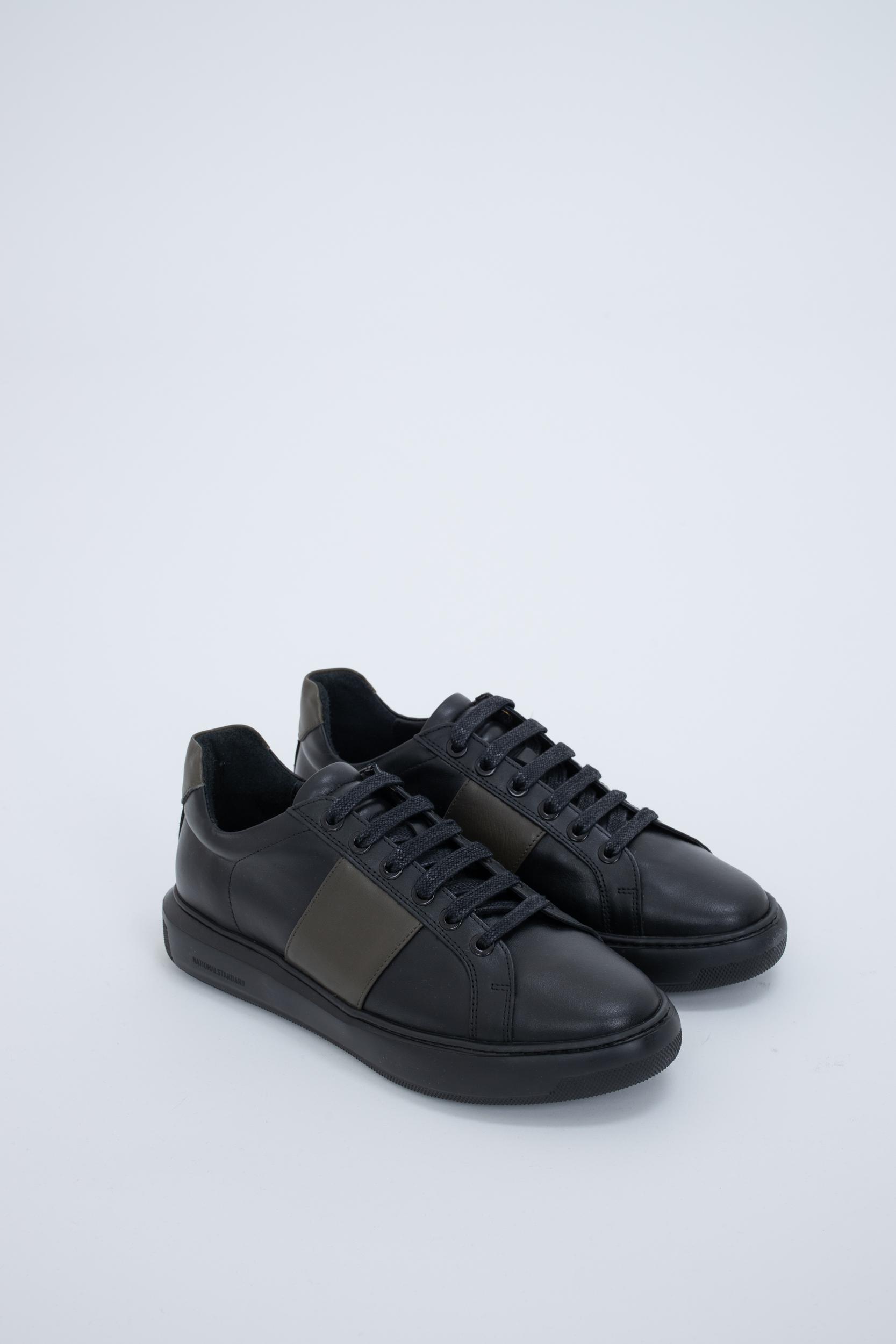 Sneaker Black Kaki