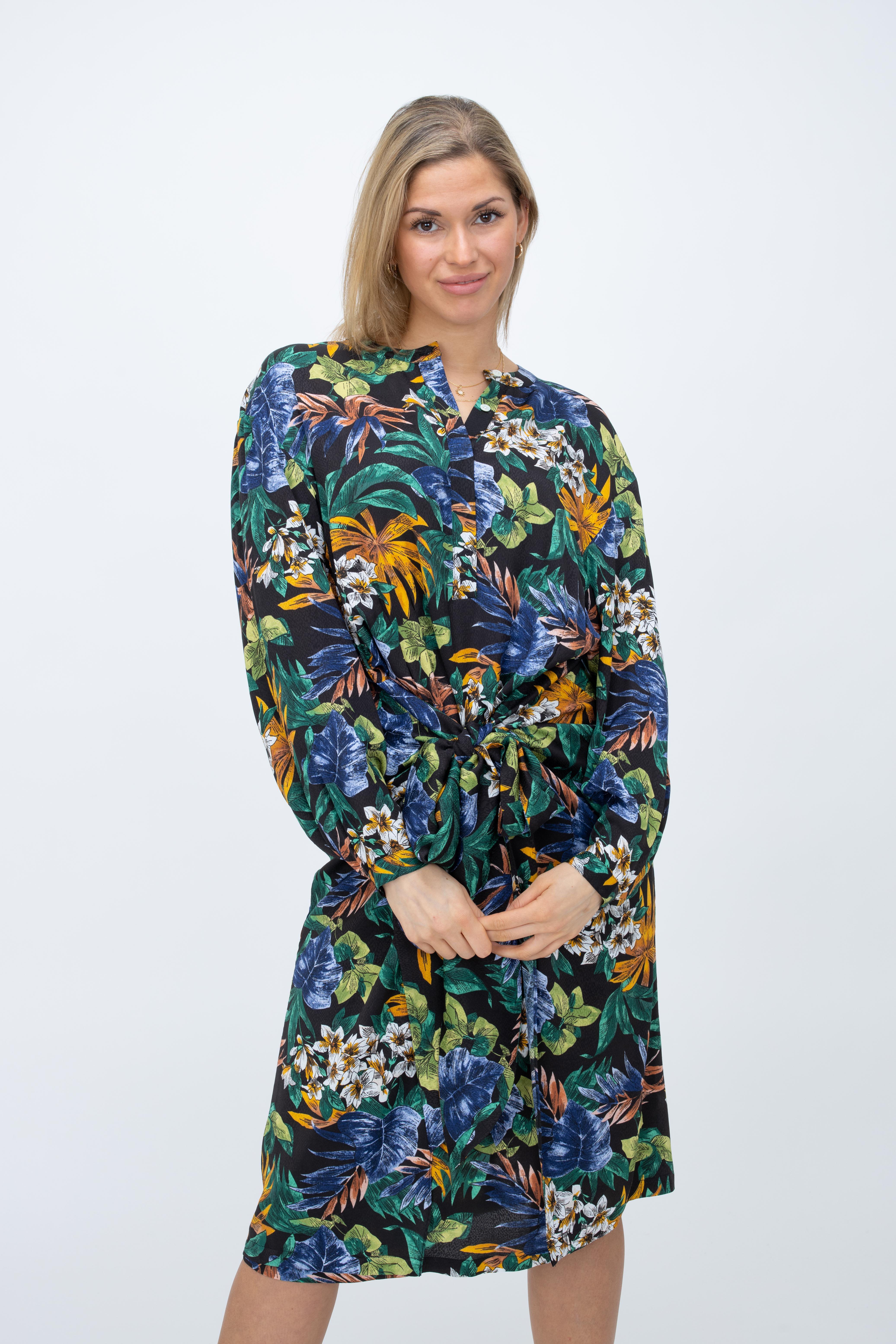 Kleid Zotanical mit Tropen-Print