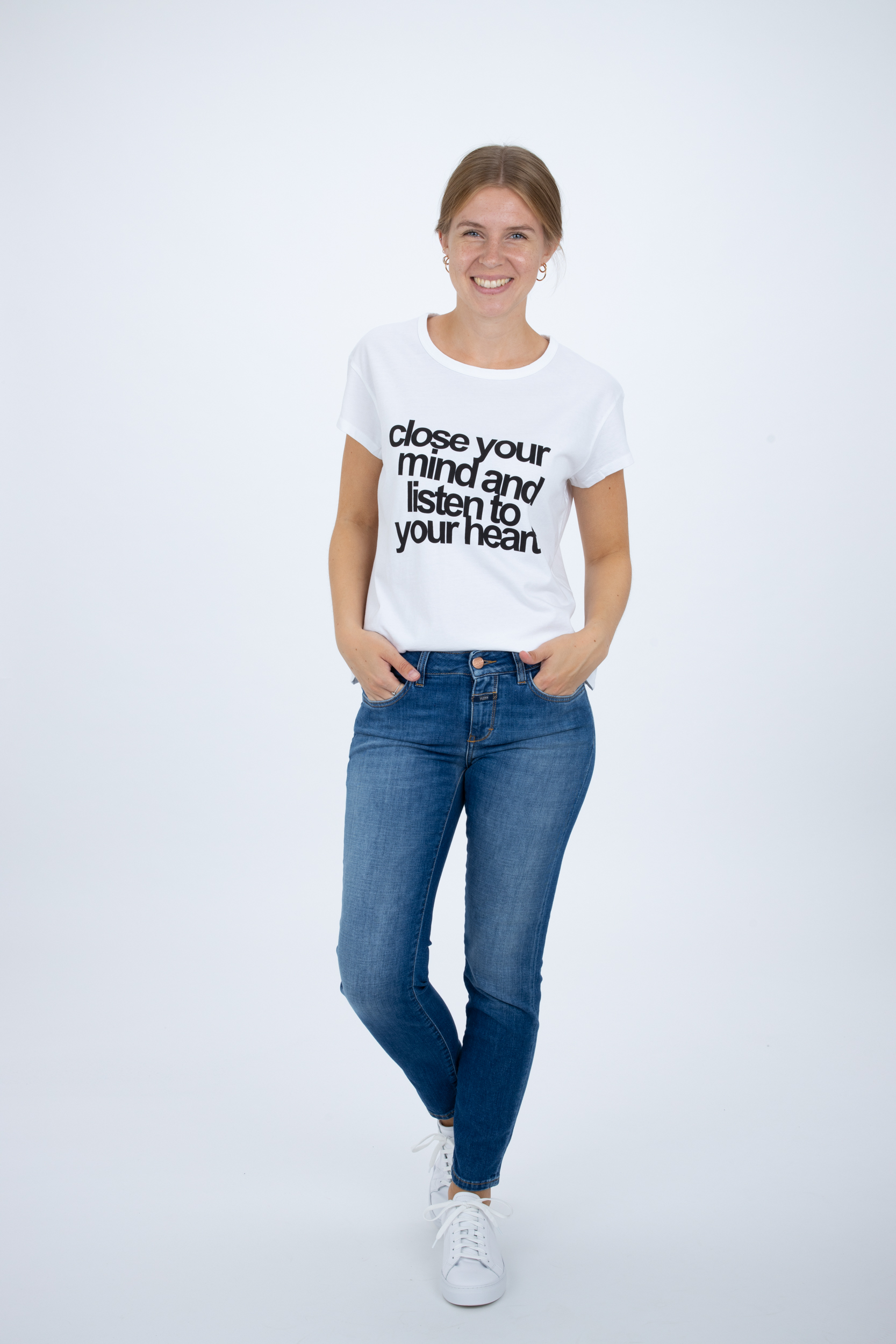 Shirt mit Statement-Print