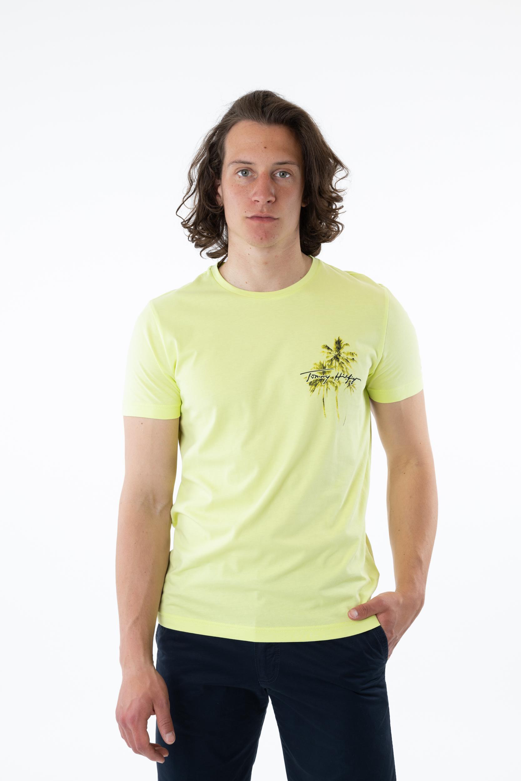 T-Shirt Palm Box Print