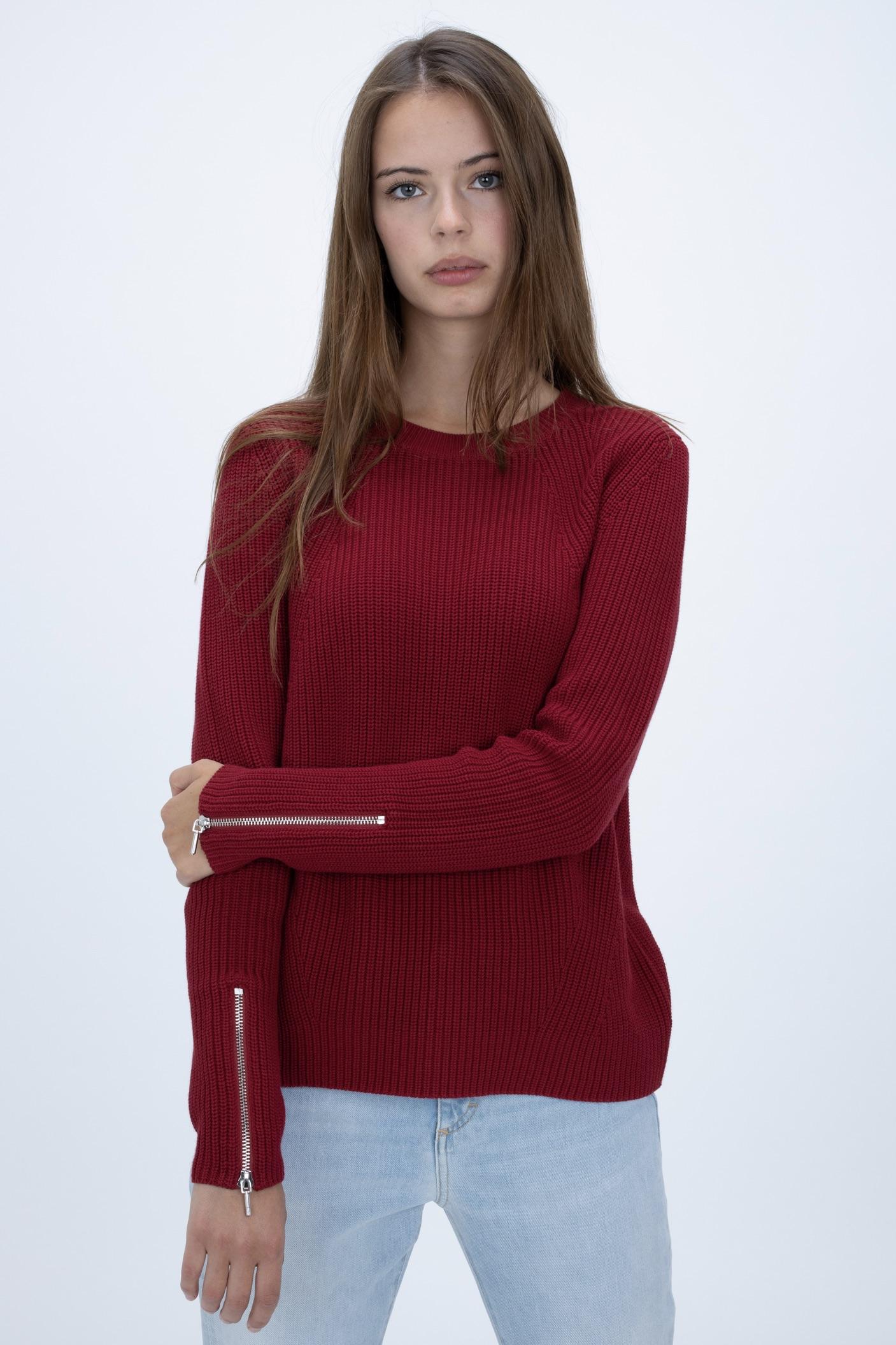 Strickpullover aus Baumwolle