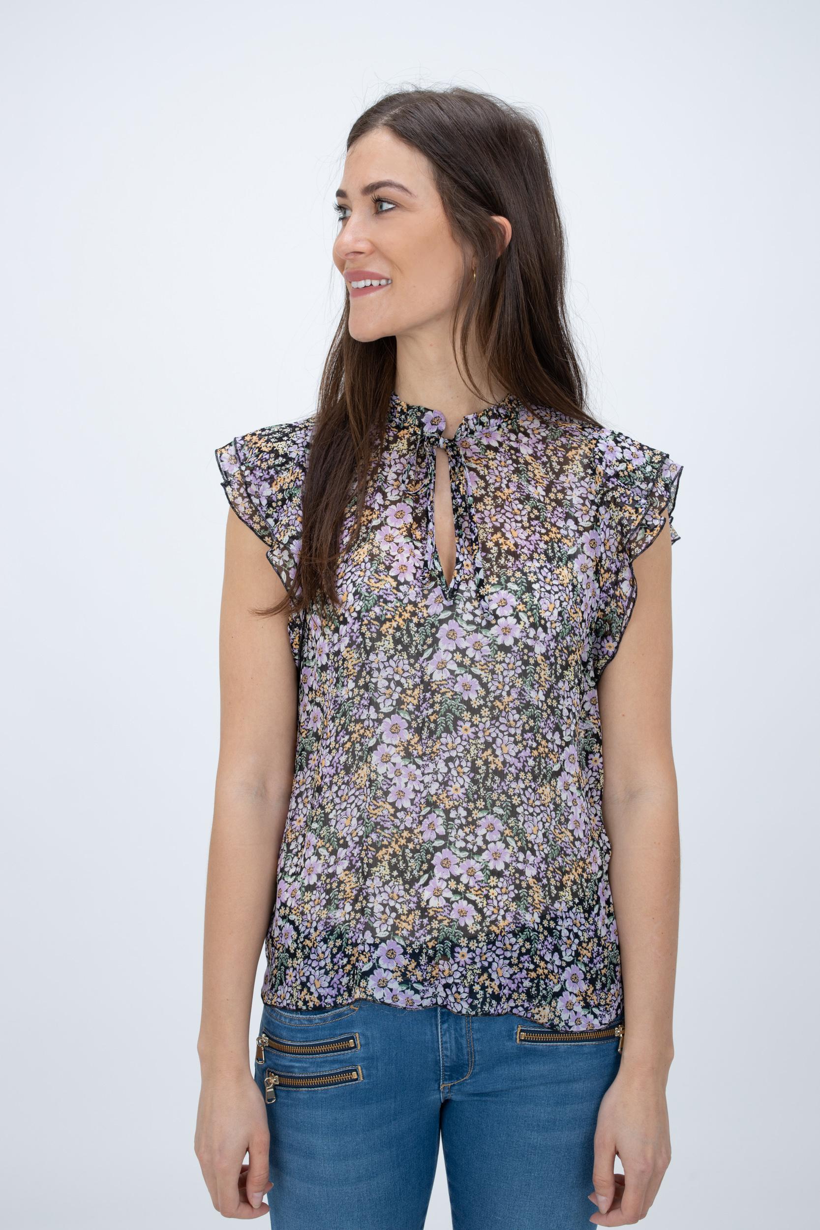 Bluse mit Flower-Print