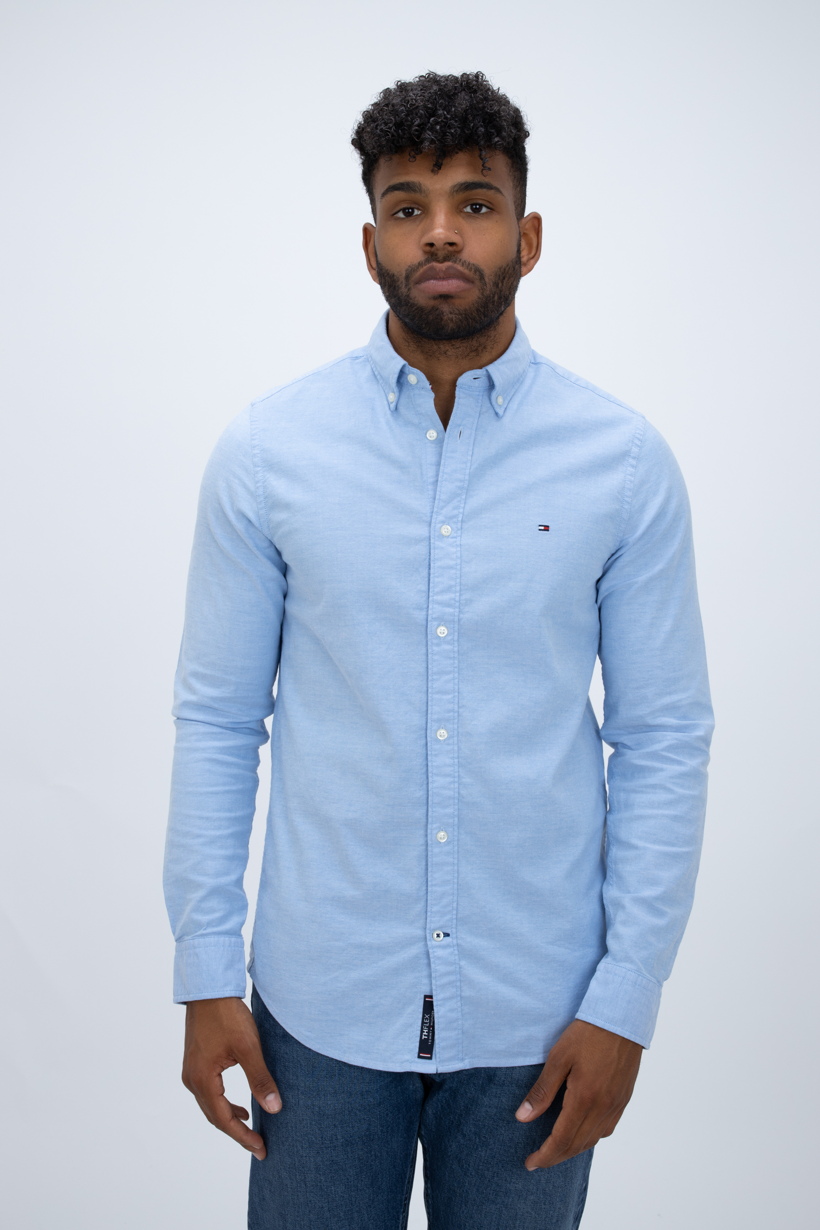 Hemd Core Stretch Slim Oxford