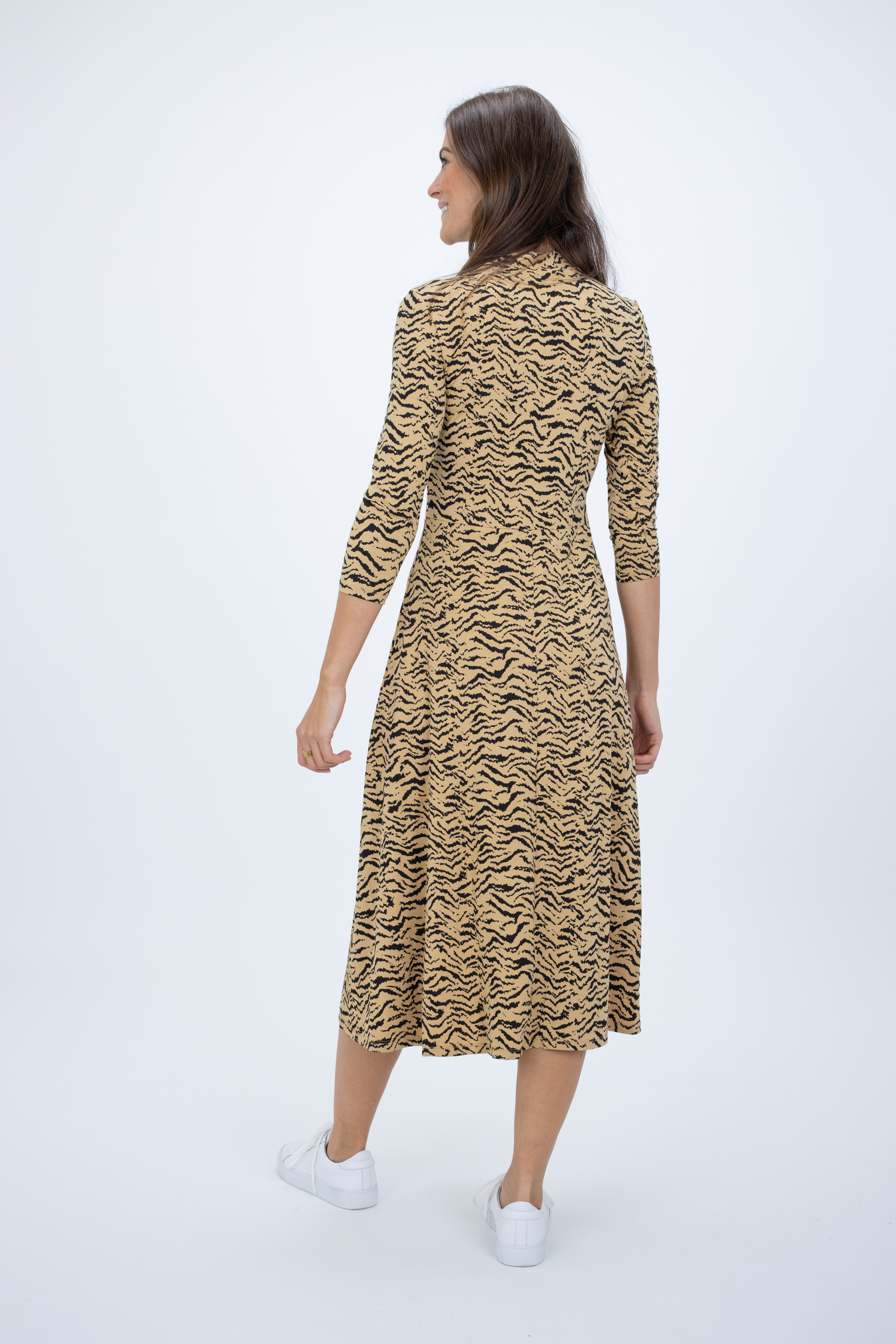 Kleid mit Essential Tiger-Print