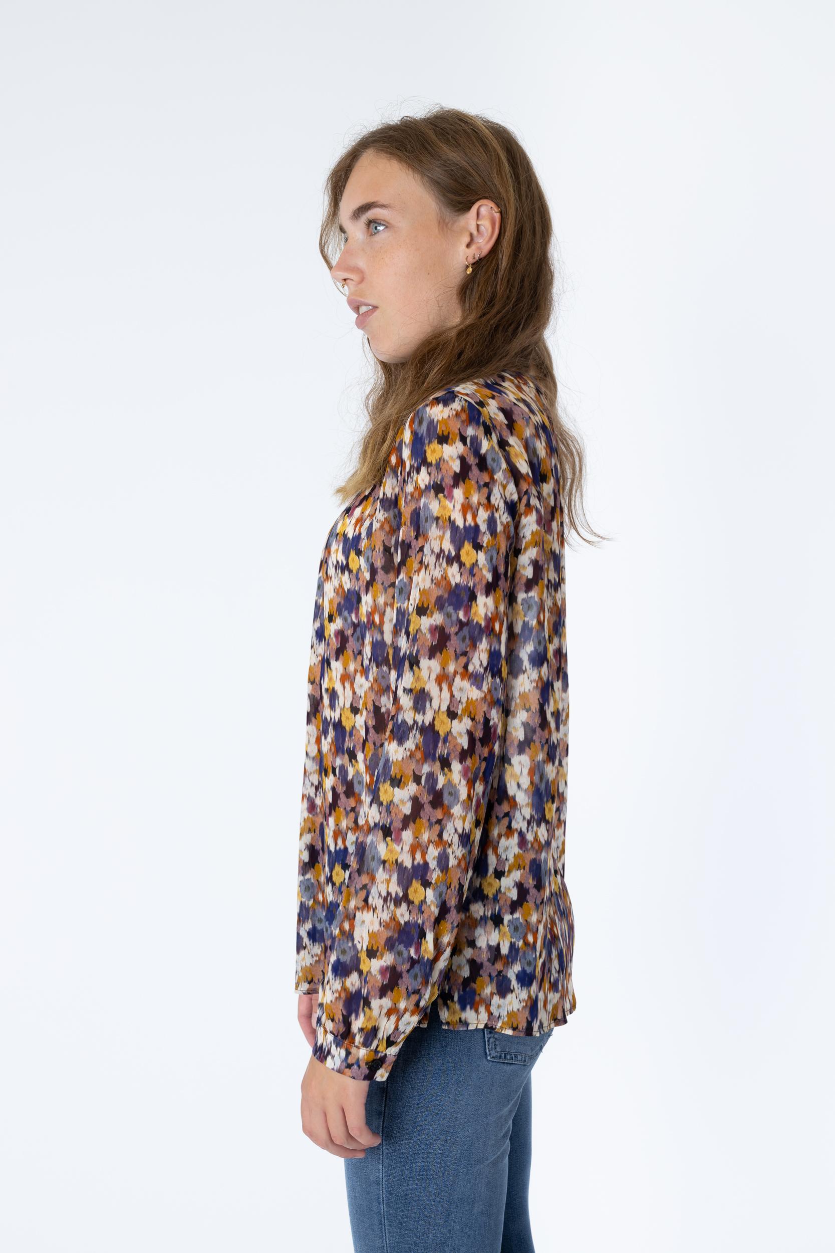 Bluse mit Flurry Blossom Print
