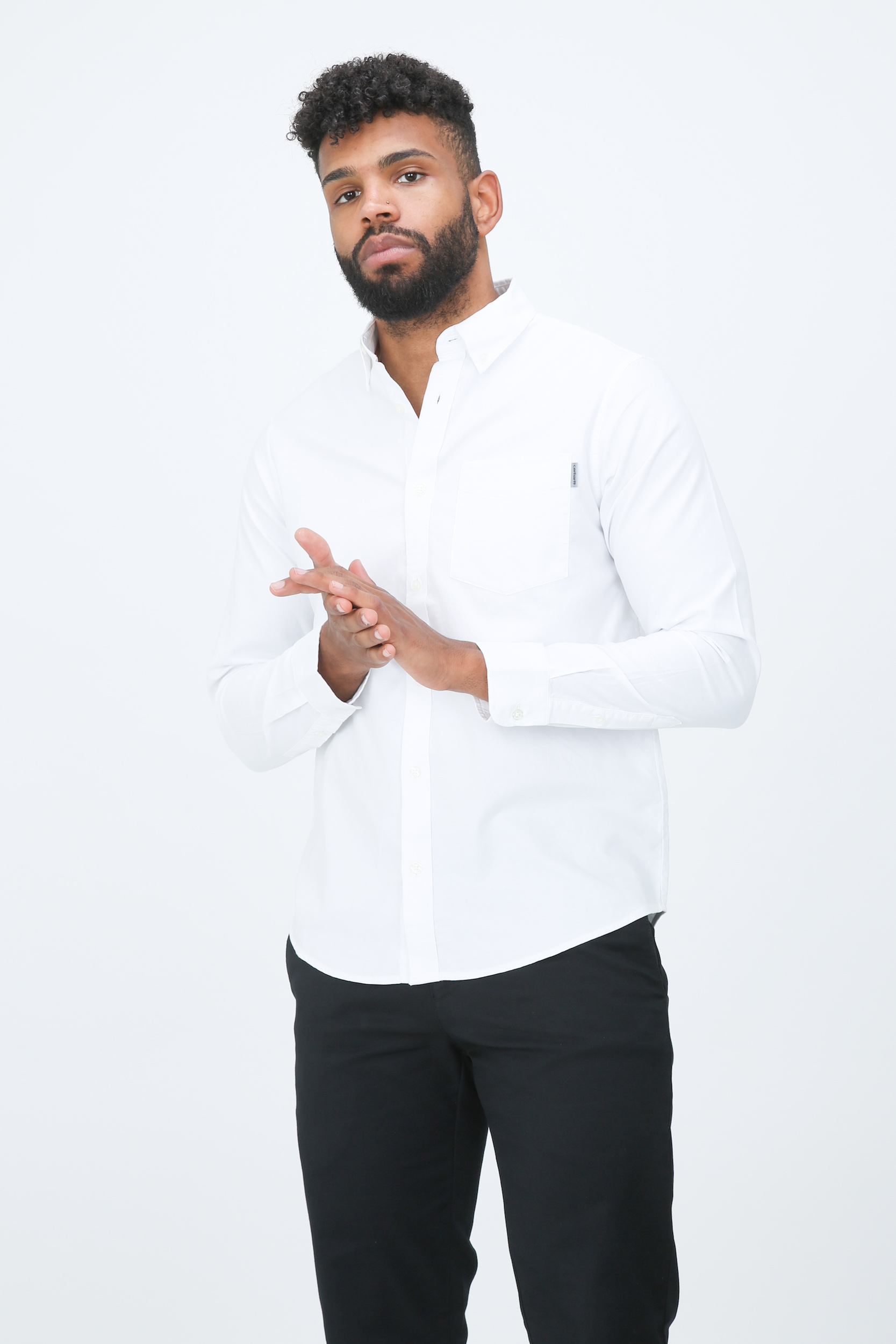 Hemd Button Down Pocket