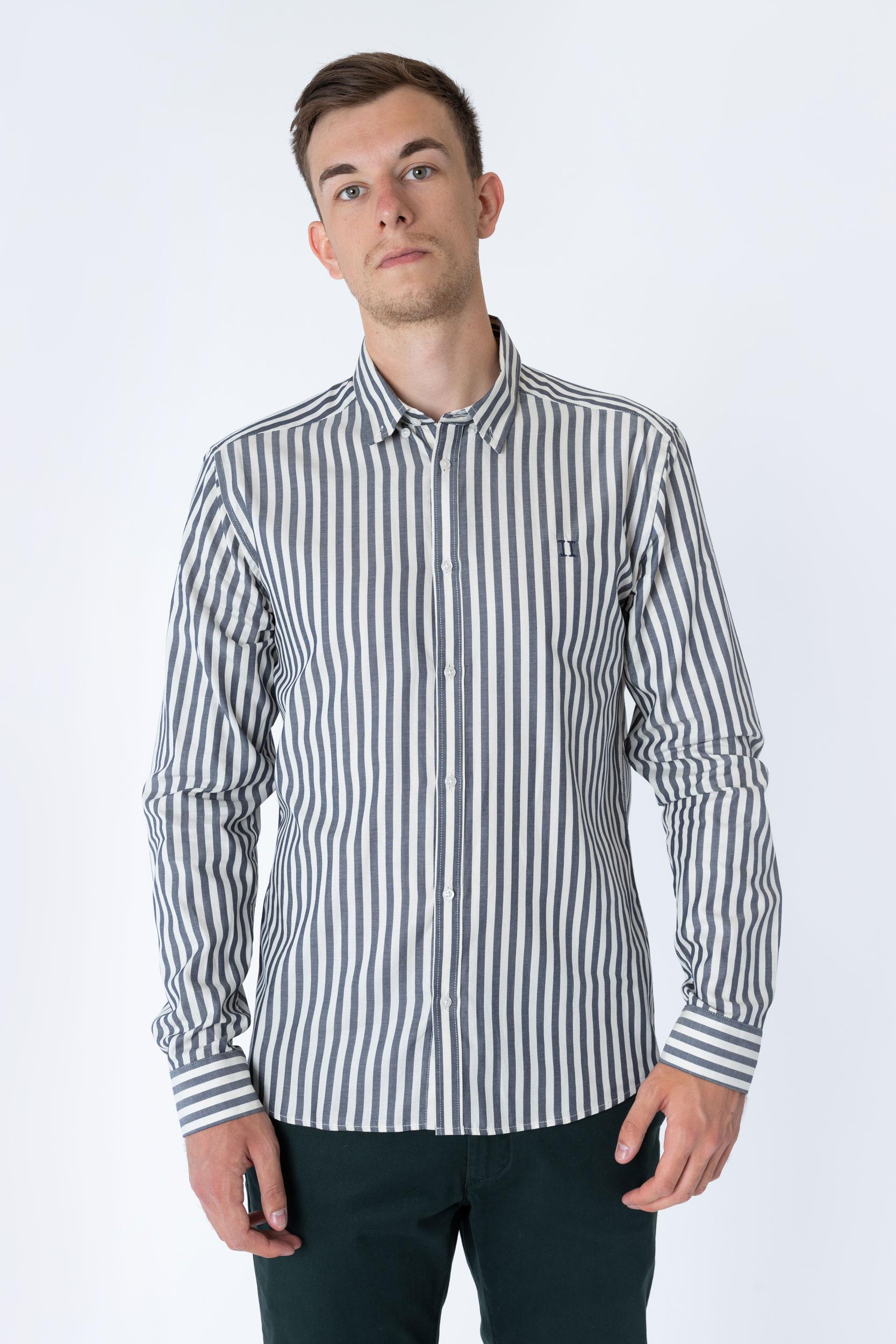 Christoph Stripe Poplin Shirt