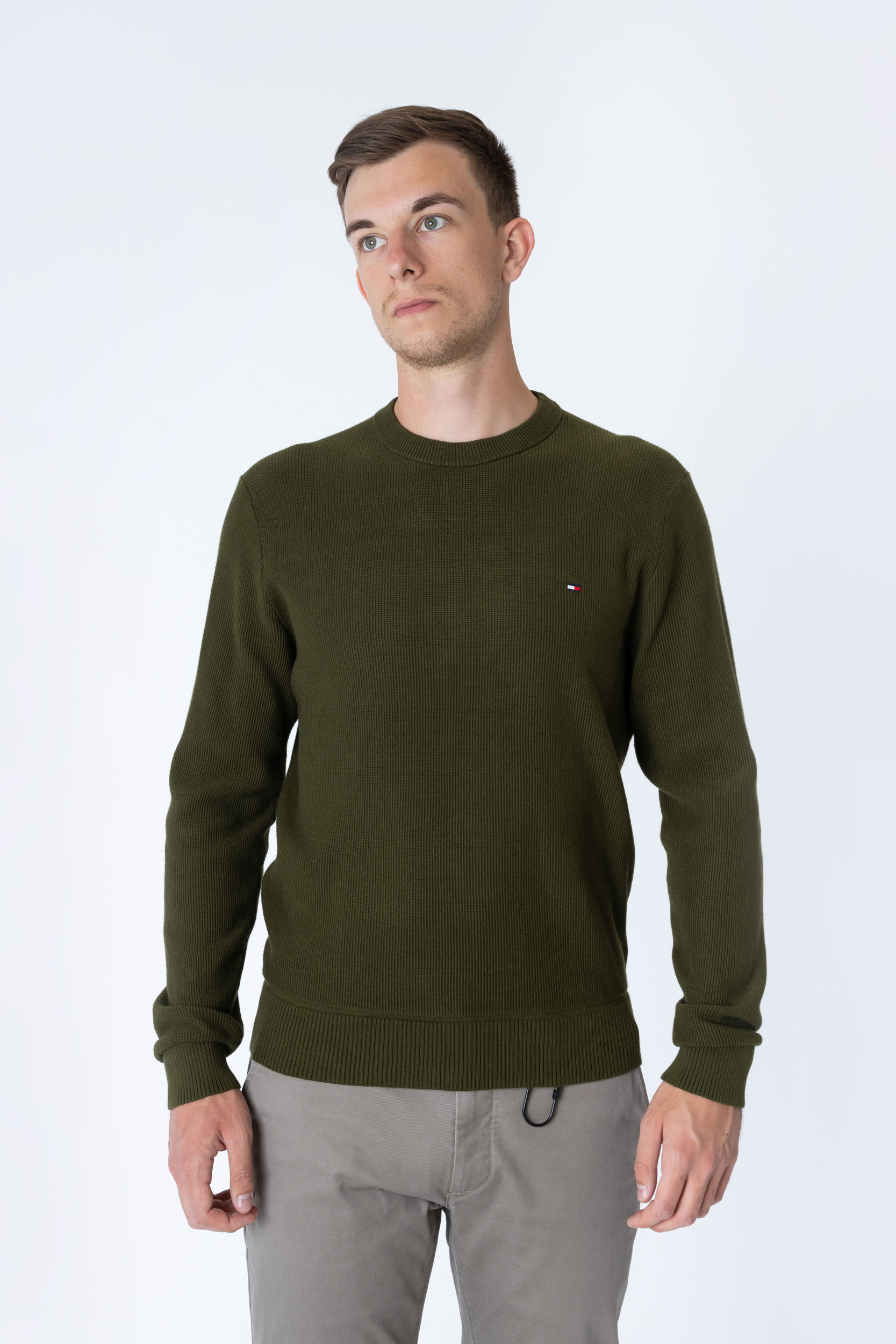 Pullover Basic Structure Crew Neck