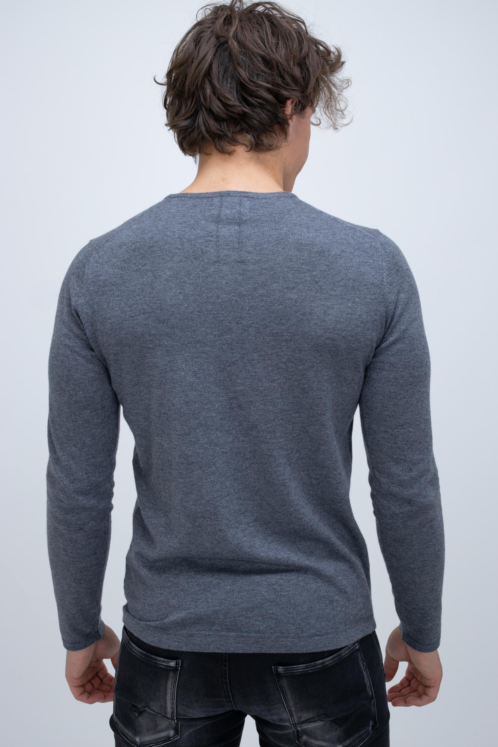 Pullover Grey Melange