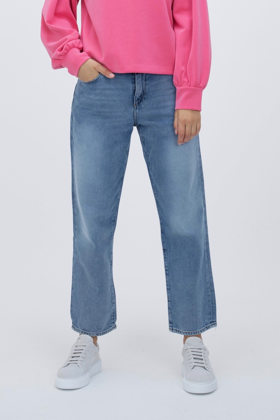 Cropped Jeans Fjellaa