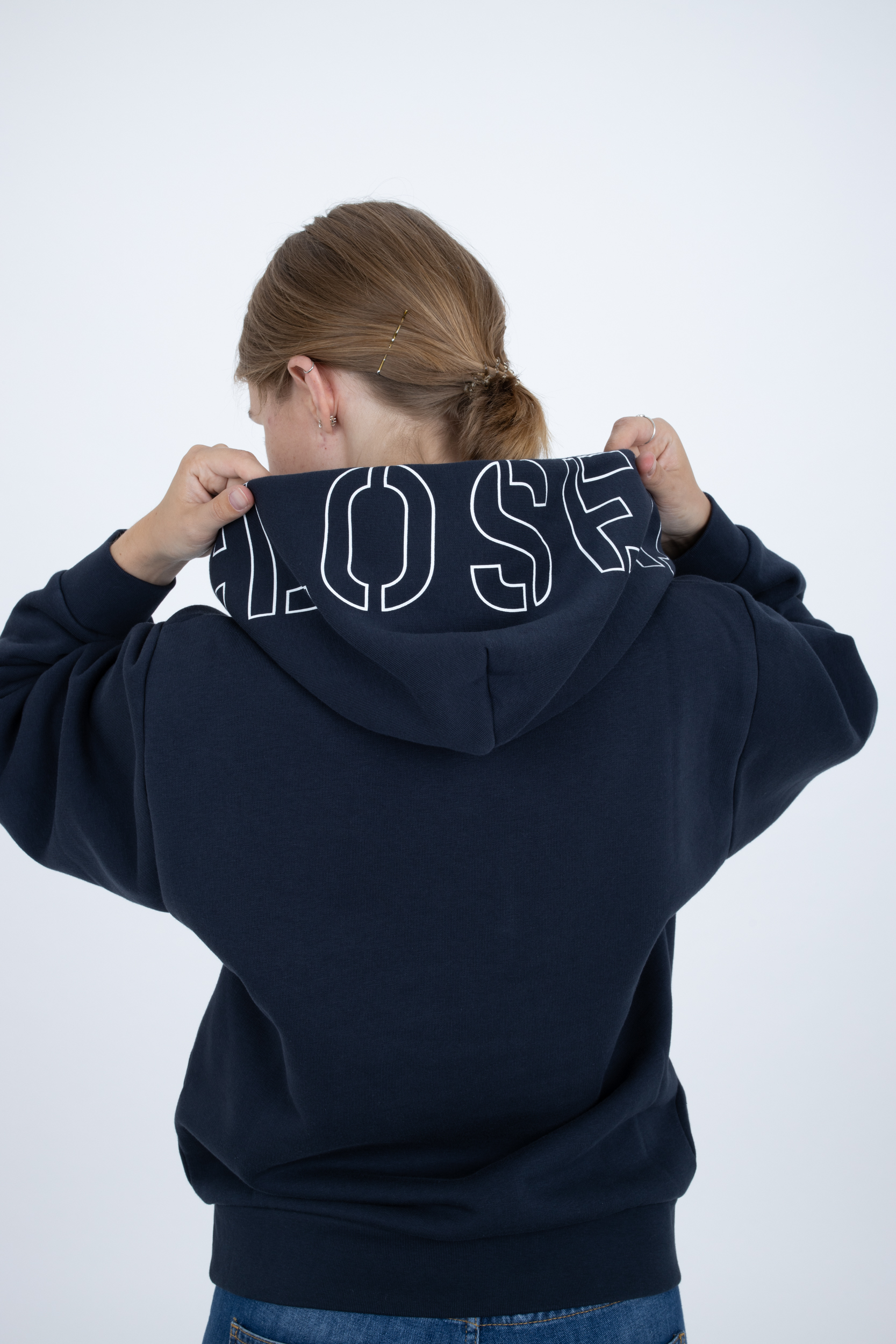 Pullover mit Closed-Print