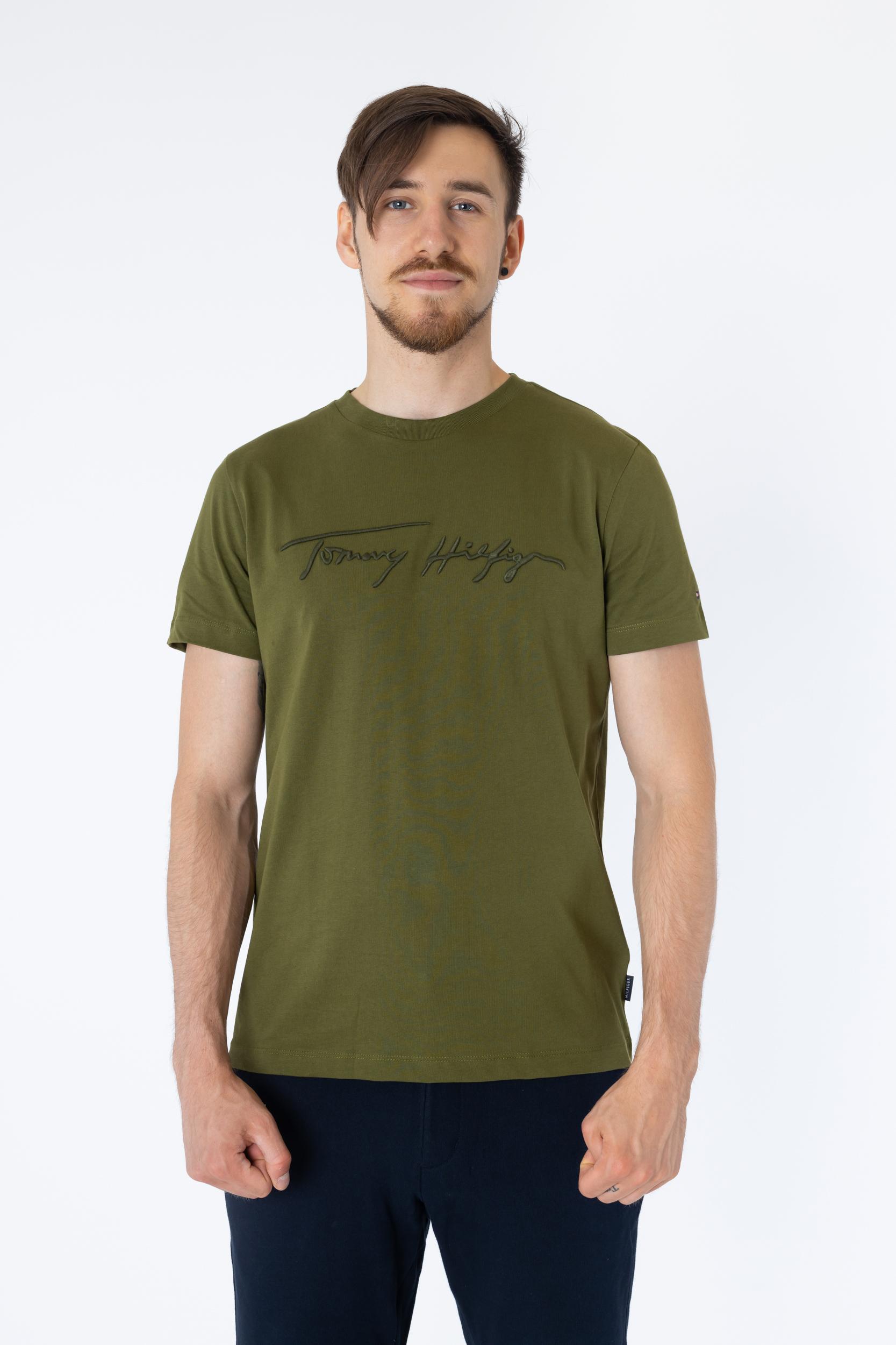 T-Shirt mit Signatur-Logo