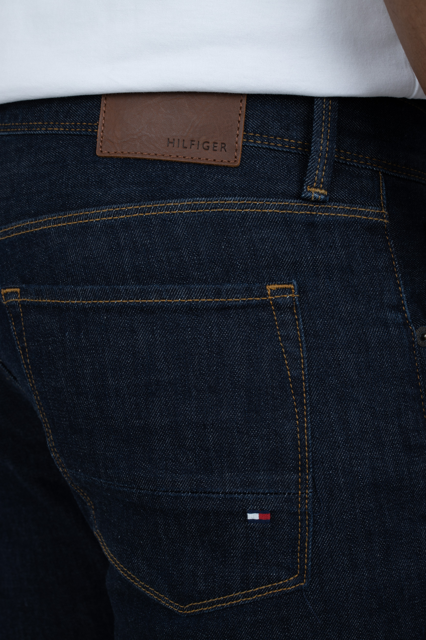 Jeans Denton Straight Fit Blau