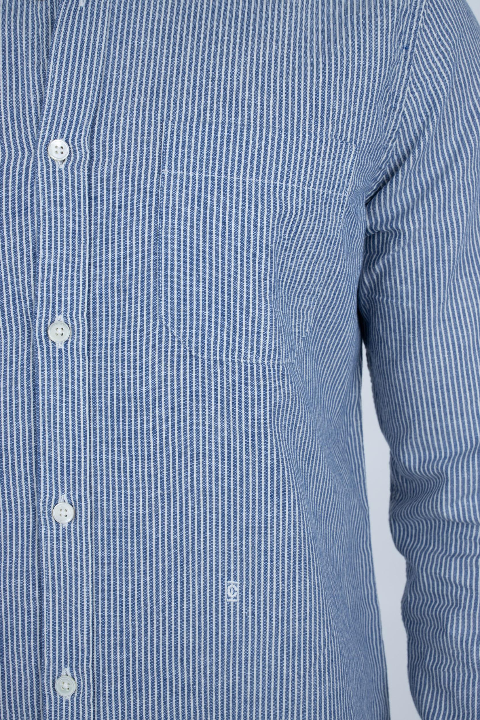 Hemd aus Baumwolle & Leinen