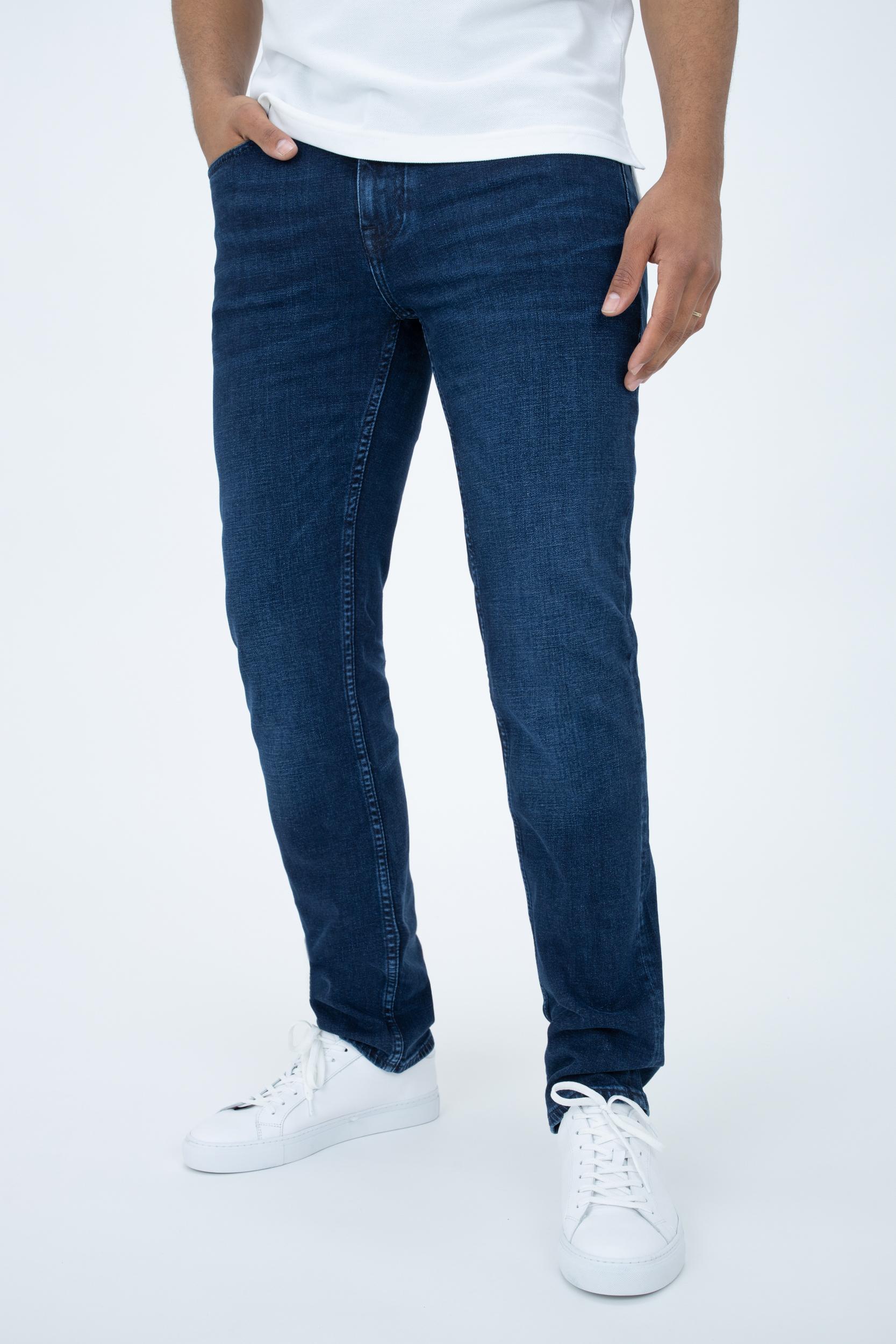 Jeans Denton Straight mit Fade-Effekt