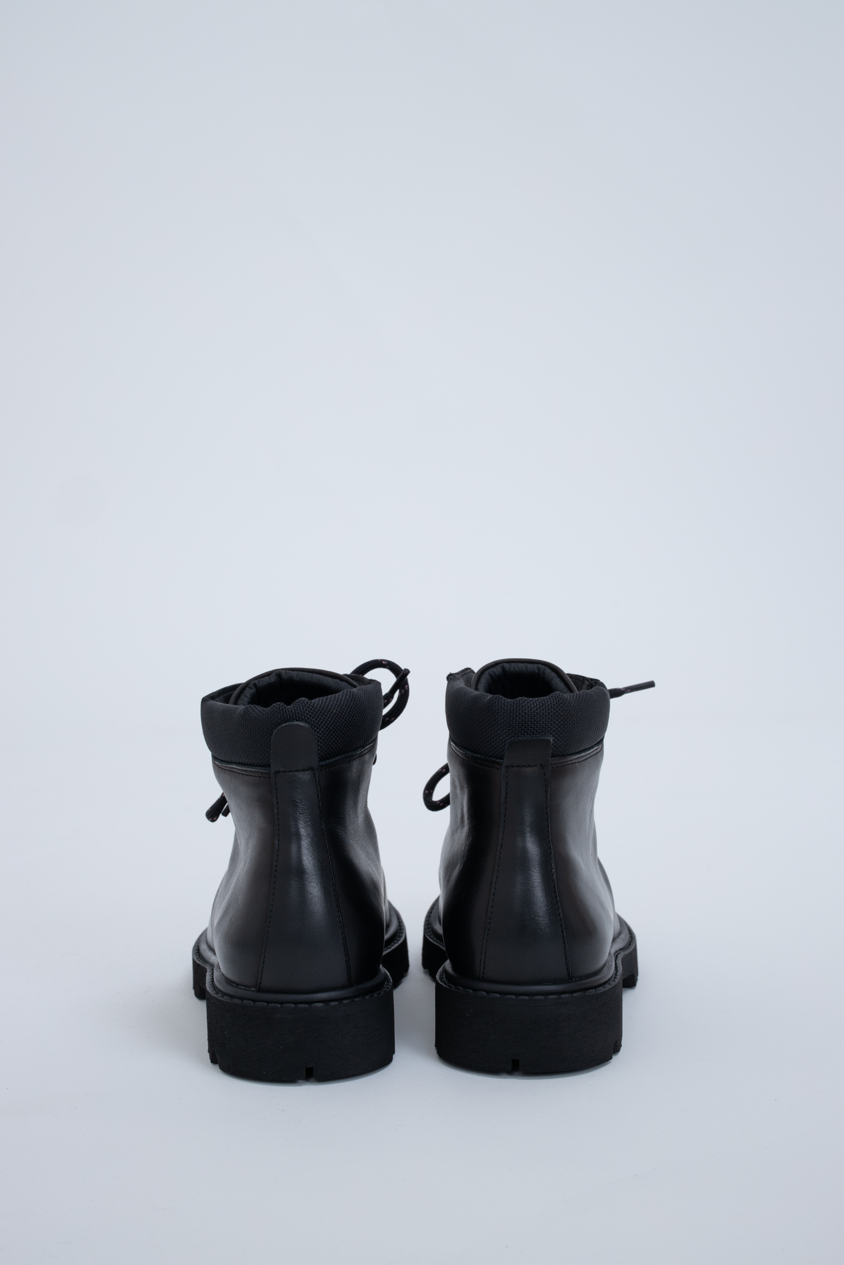 Boots City Hiker Black Leather