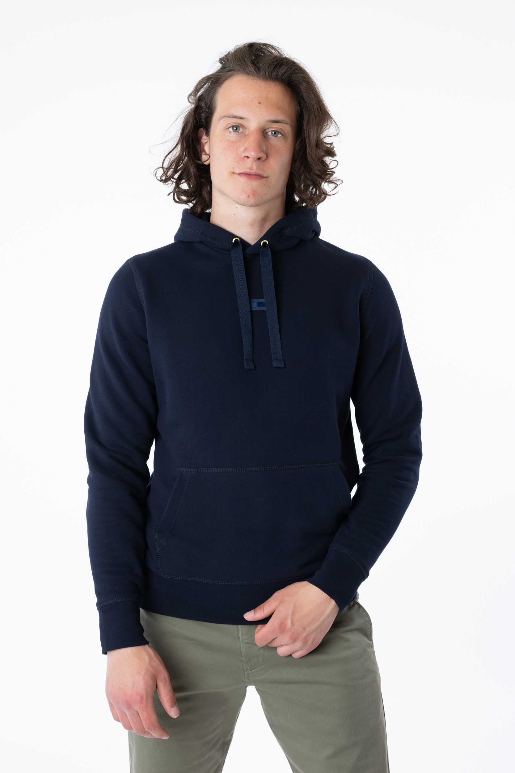 Pullover Recycled Cotton Hoody