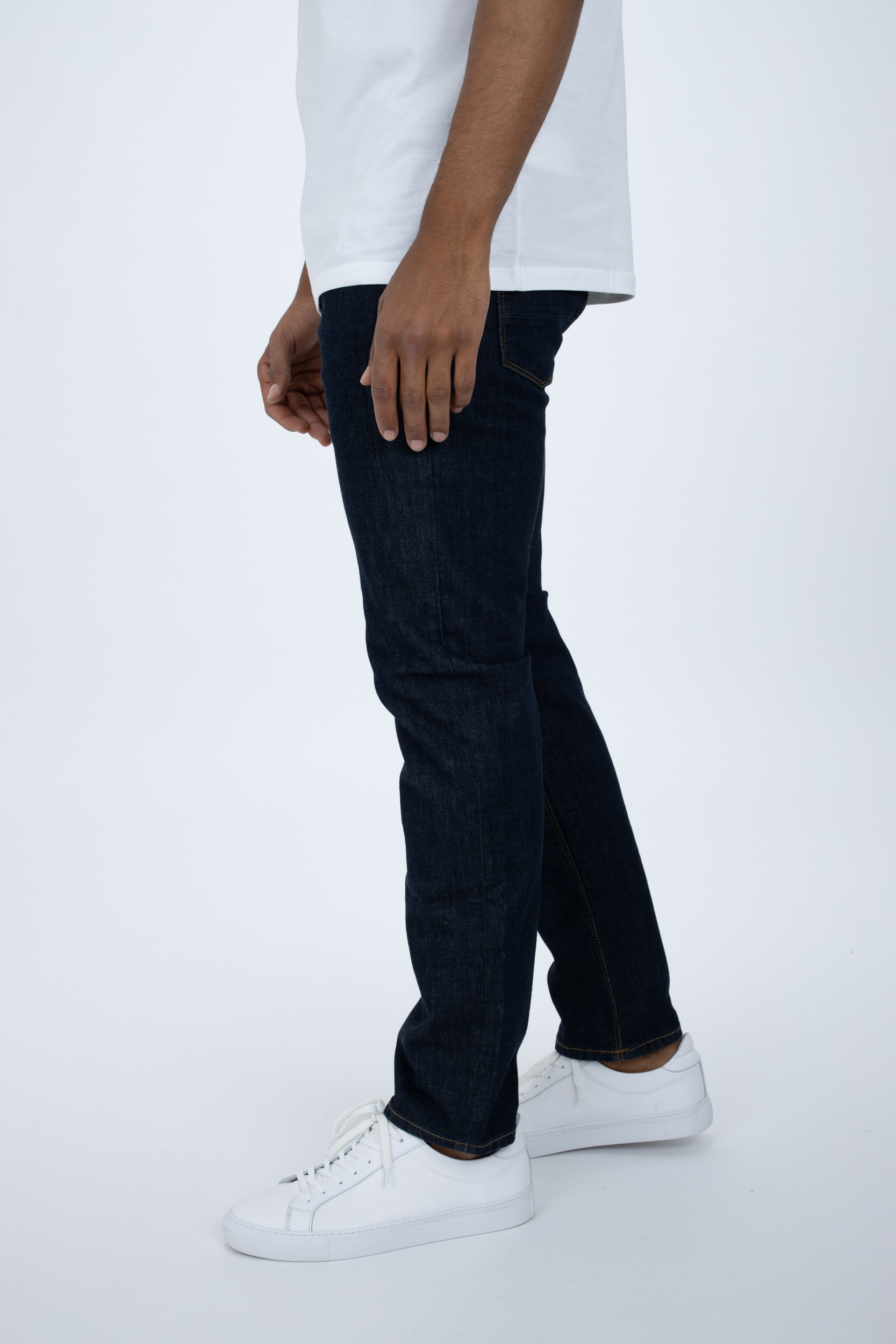 Jeans Denton Straight Fit Blau