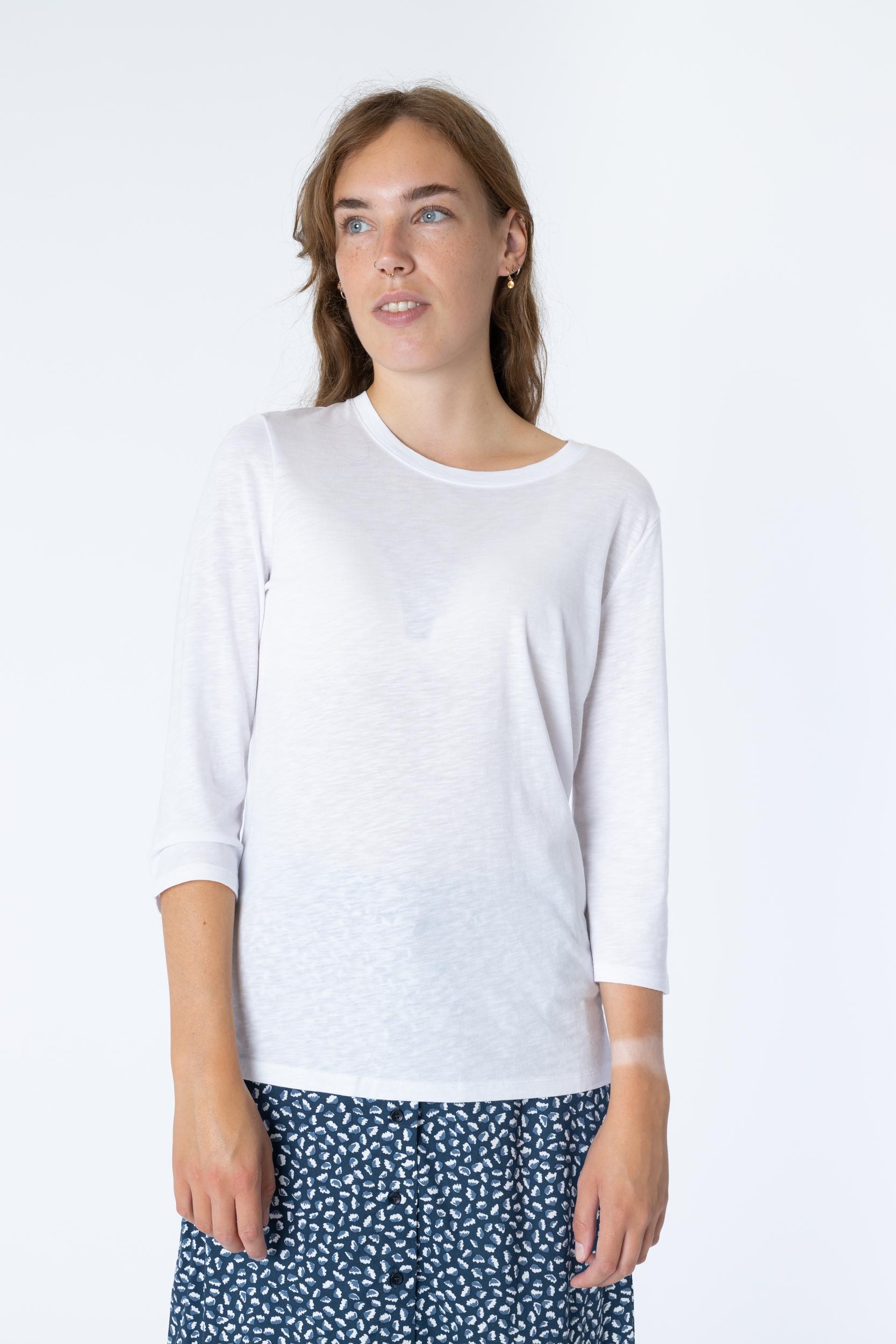Shirt mit 3/4-Ärmel