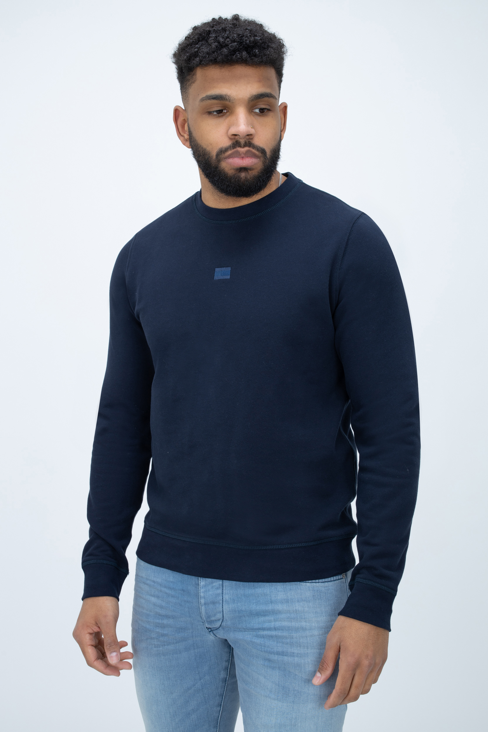 Pullover Recycled Cotton Crewneck