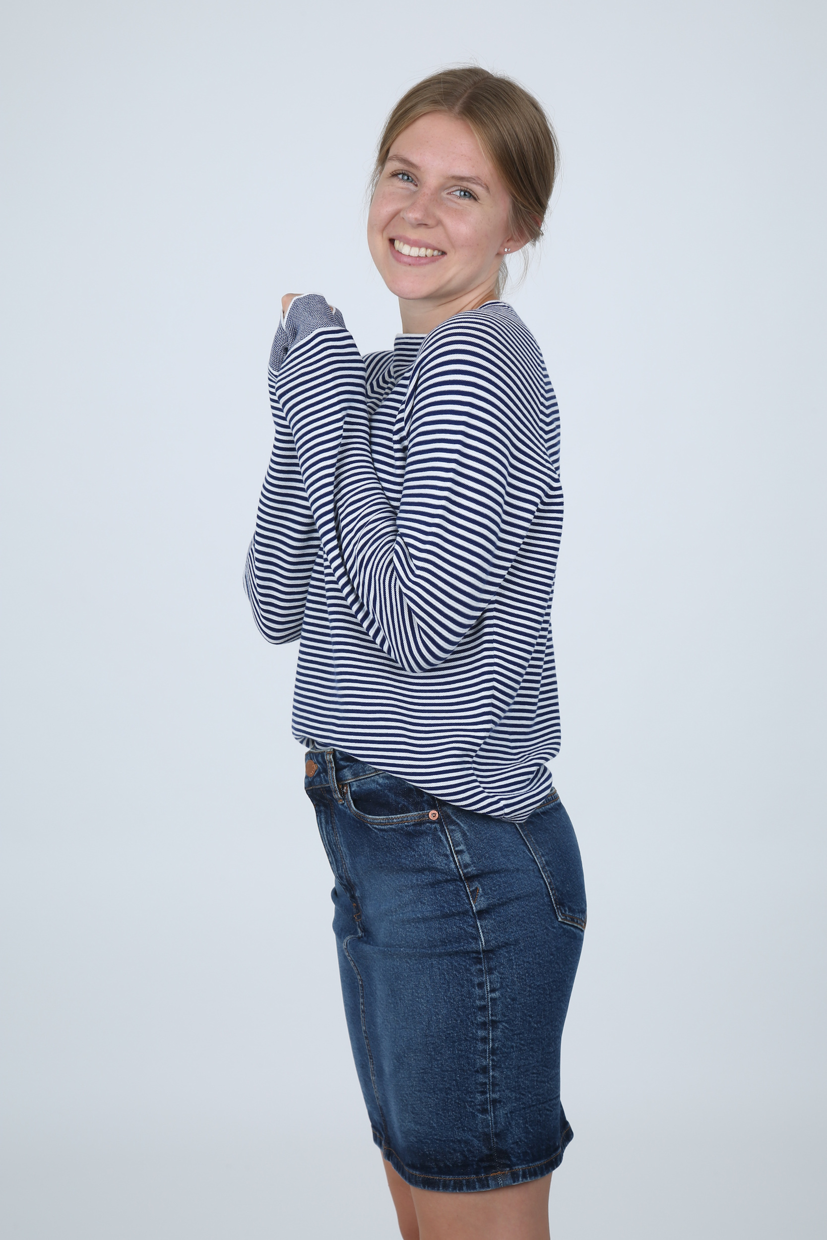 Pullover Zande T-N Stripe