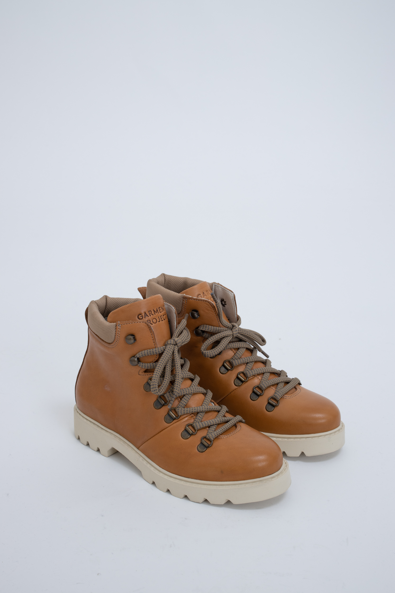 Boots City Hiker Caramel Leather