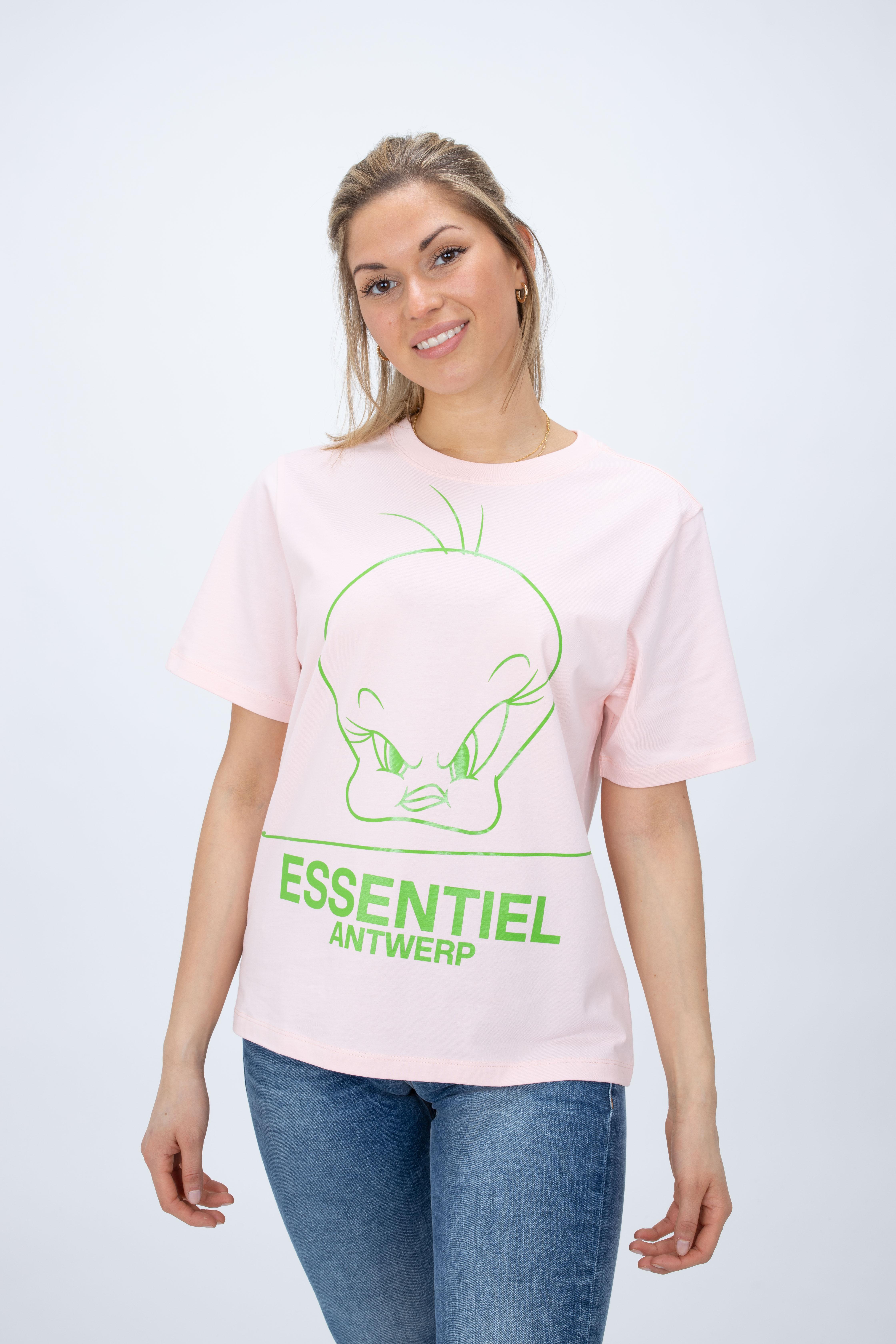 T-Shirt Zinker mit Looney-Print