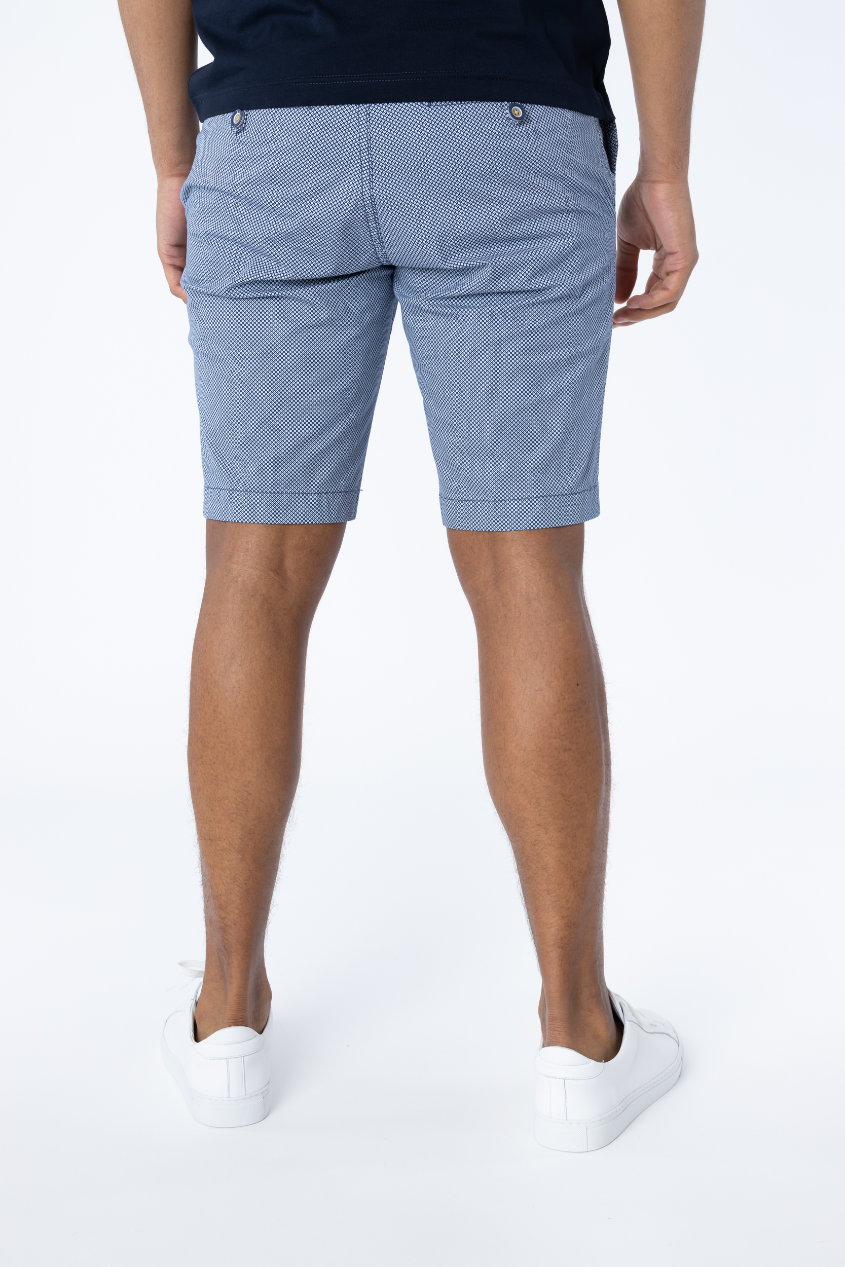 Shorts mit Mikromuster
