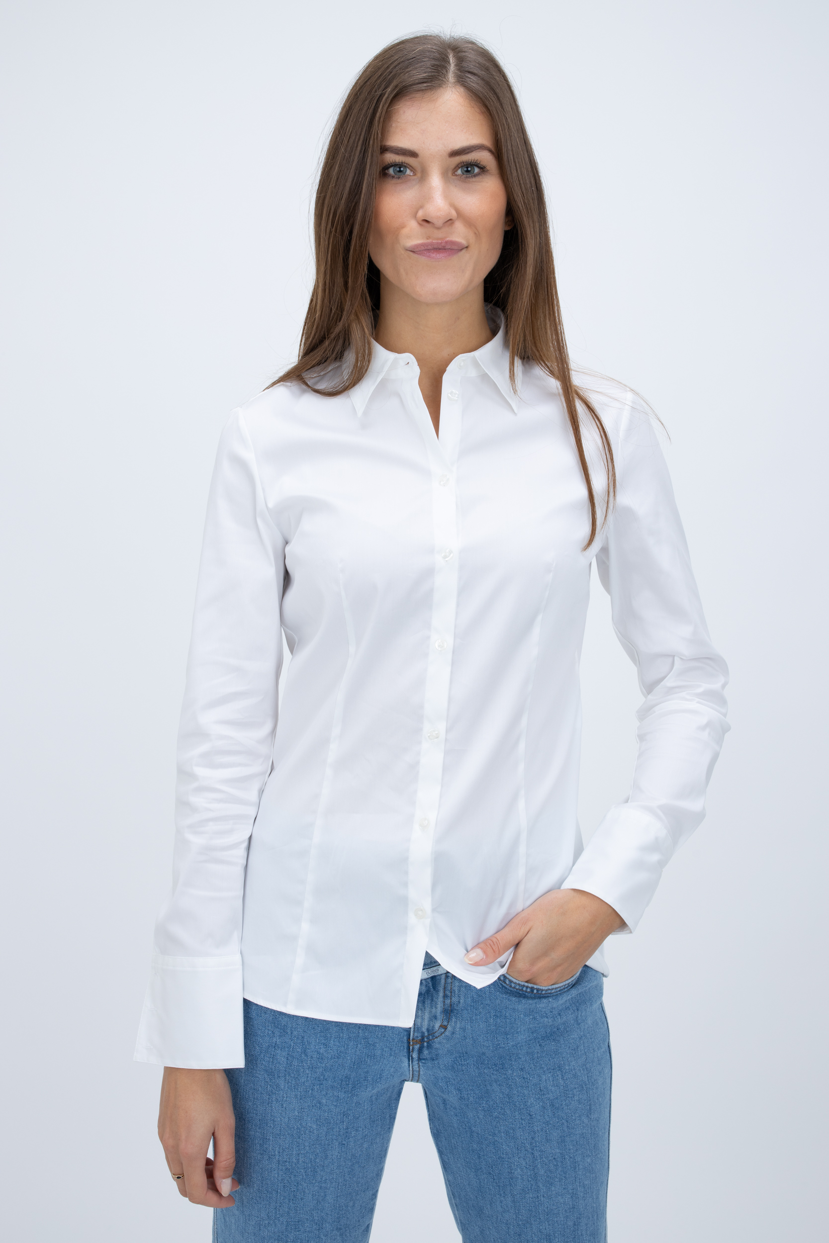 Bluse The Fitted Shirt