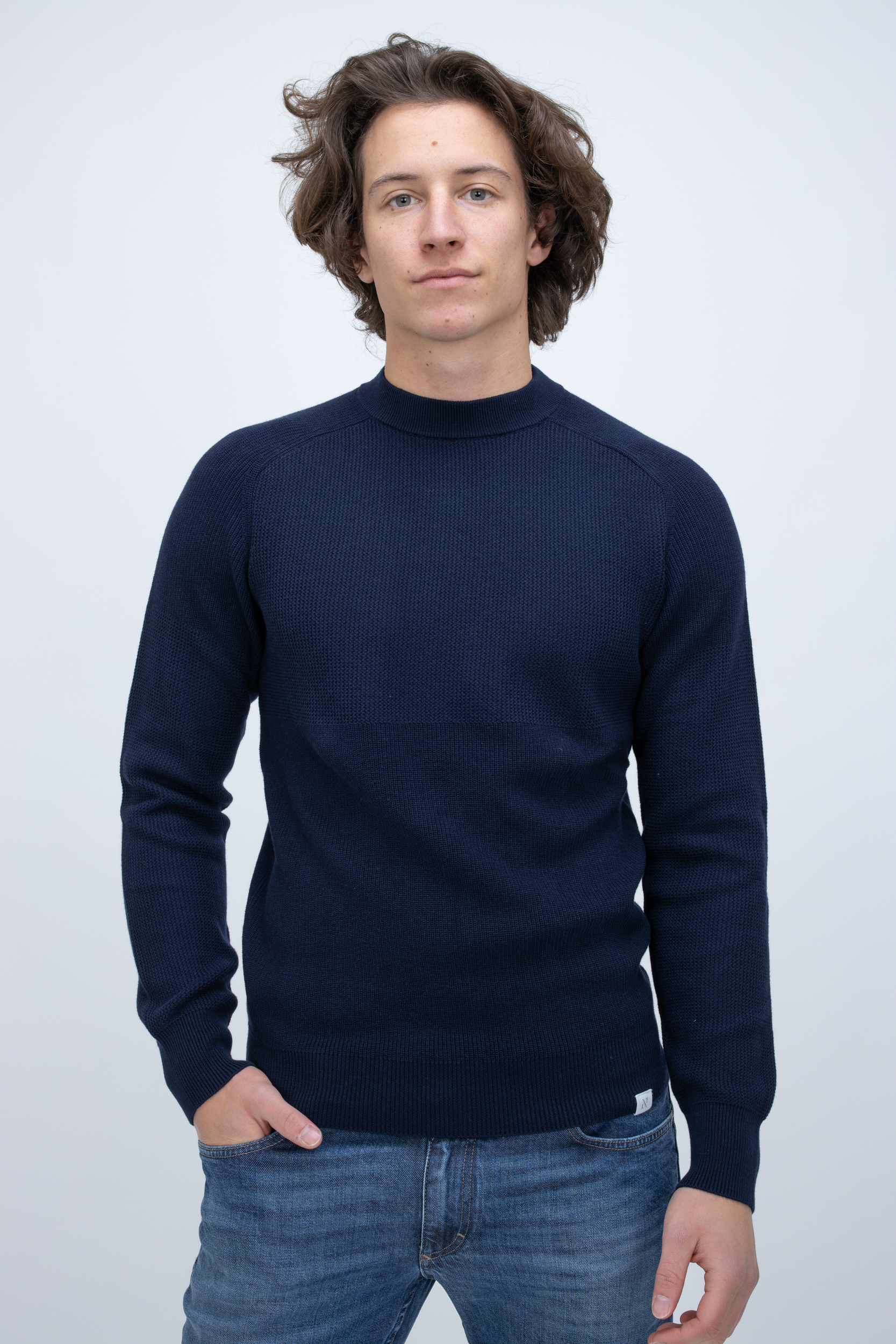Pullover Sky Captain mit Wolle