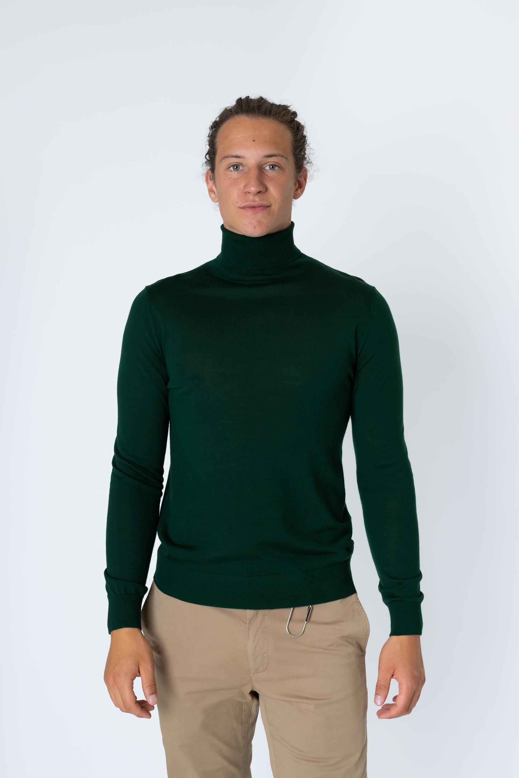 Rollkragenpullover Fine Knit Turtle Neck