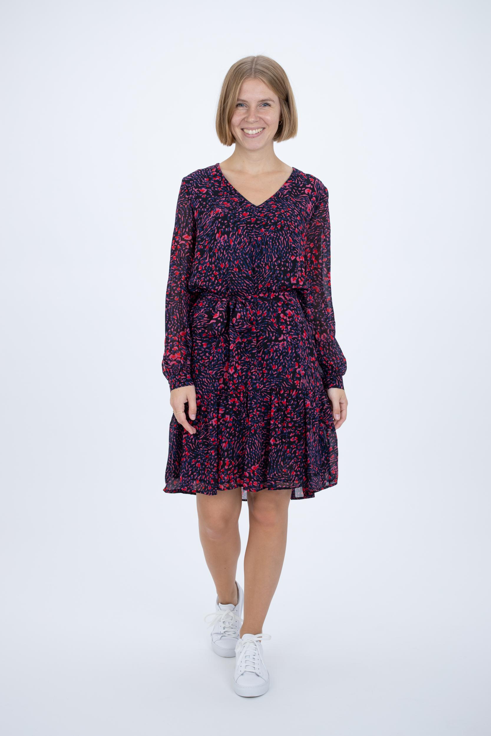 Kleid mit Floral-Print