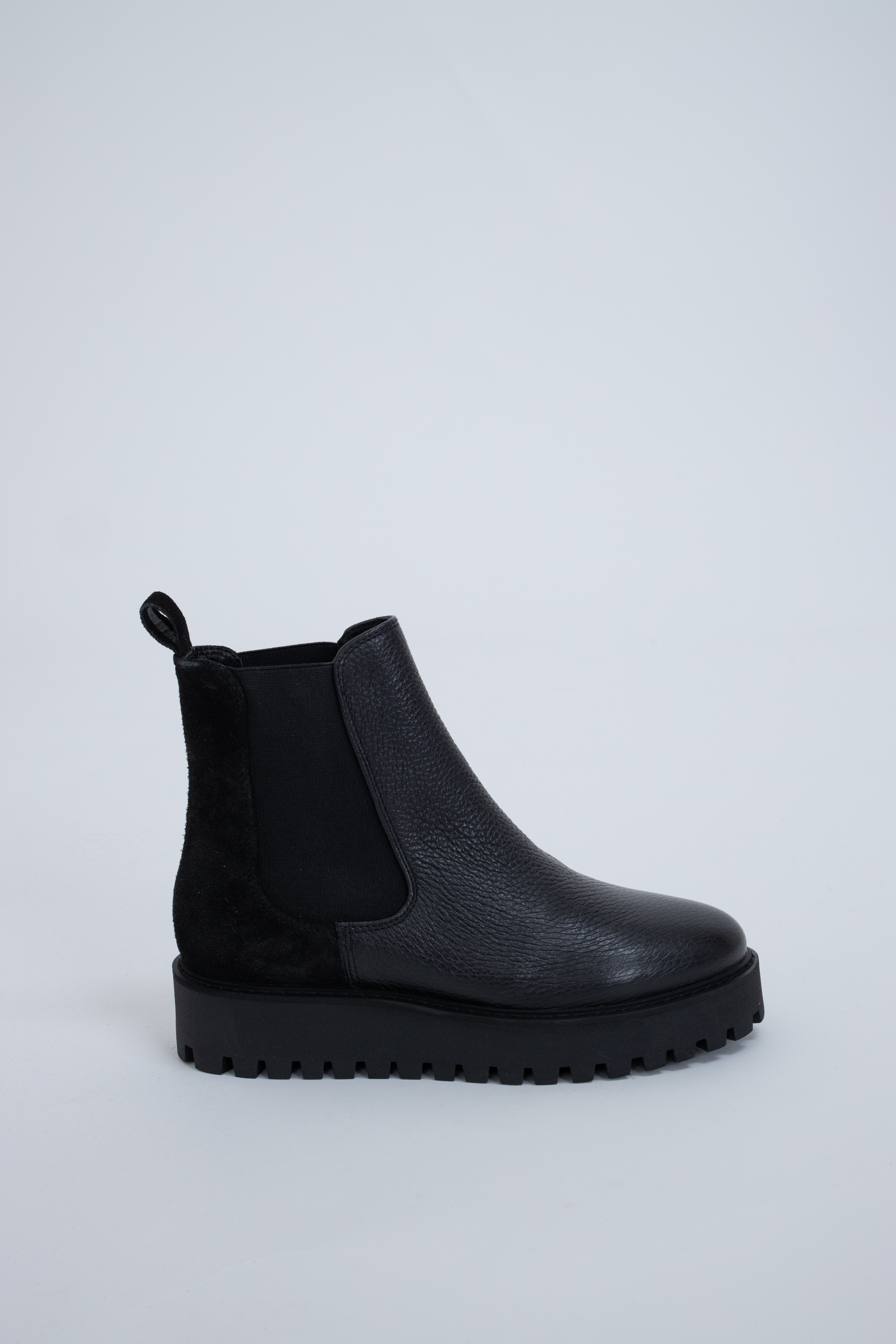 Boots Mina Chelsea Black Leather