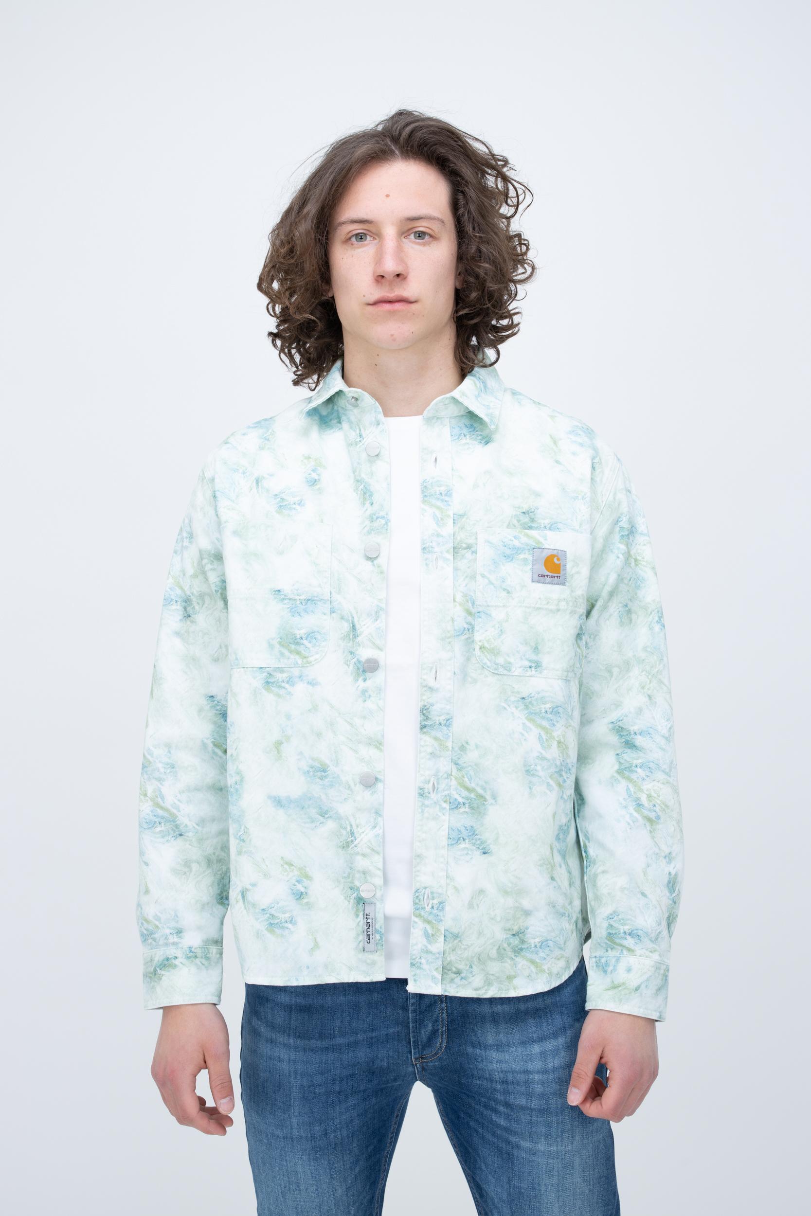 Shirt Marble L/S