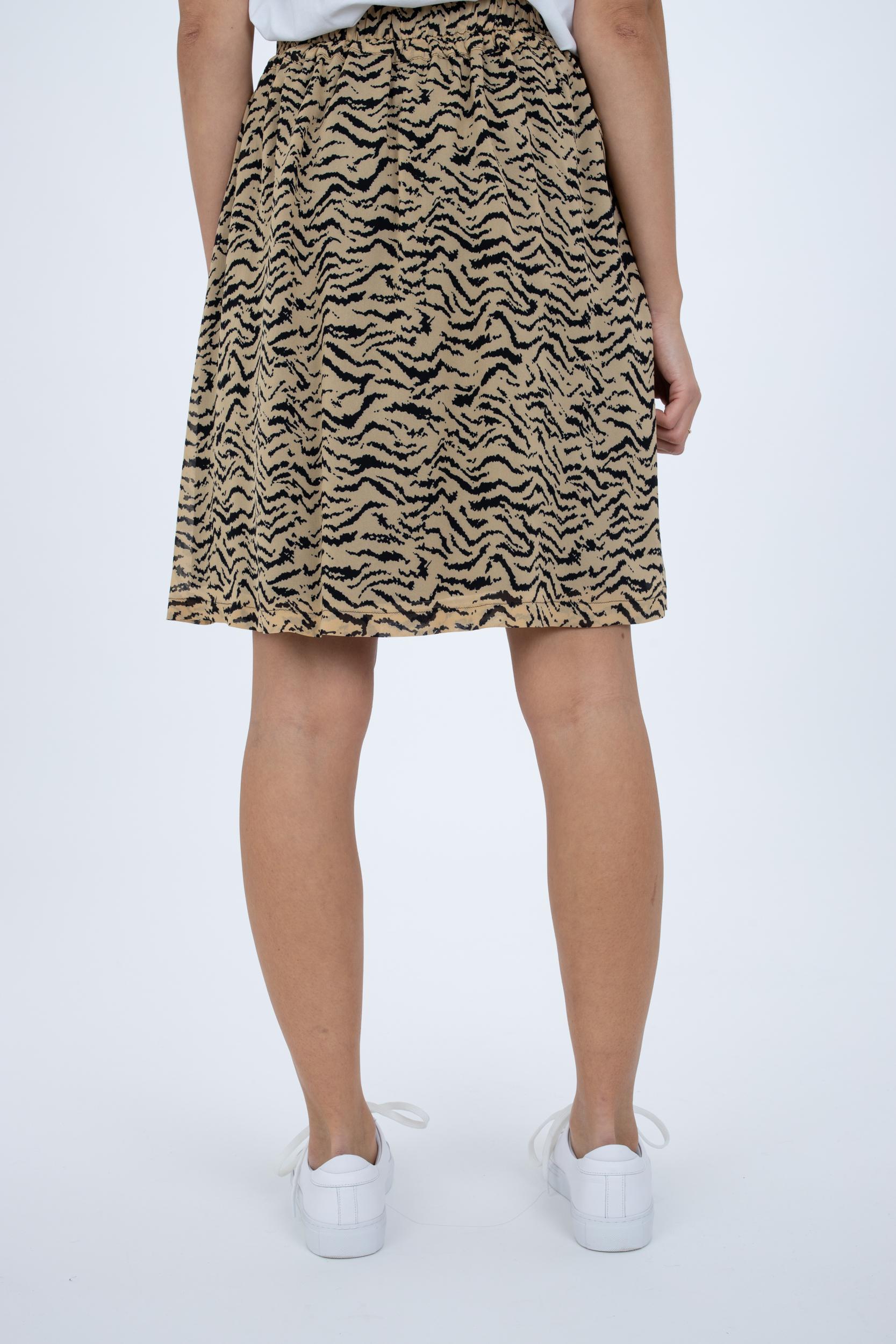 Minirock mit Tiger-Print