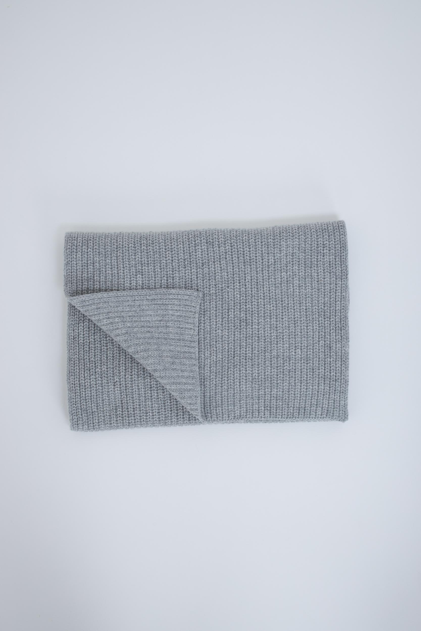 Schal aus Grobstrick