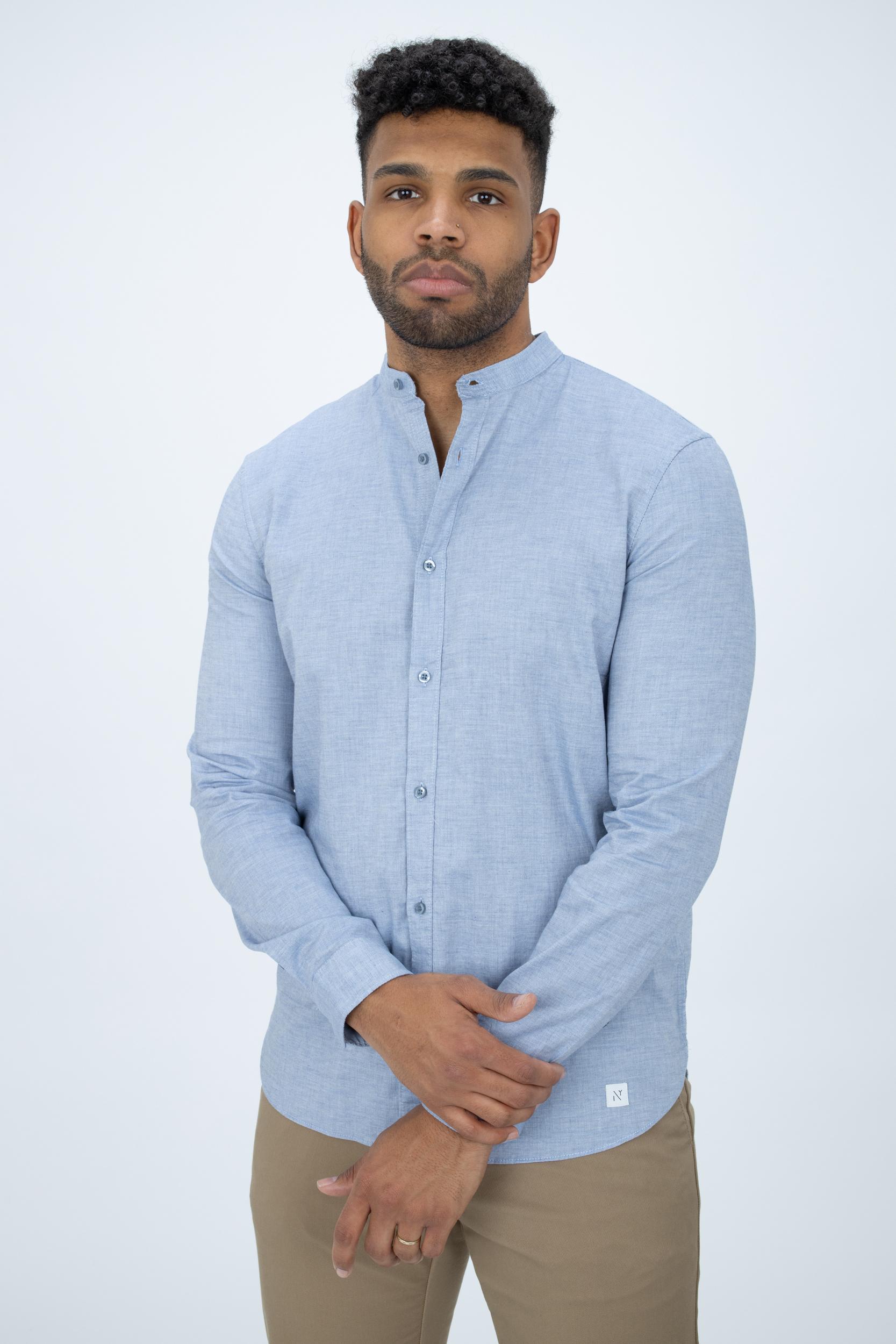 Hemd mit Mini-Kragen