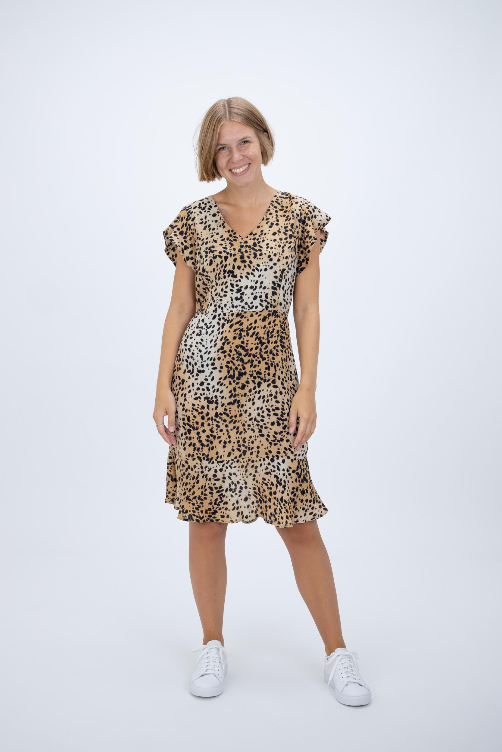 Kleid mit Gepardenprint