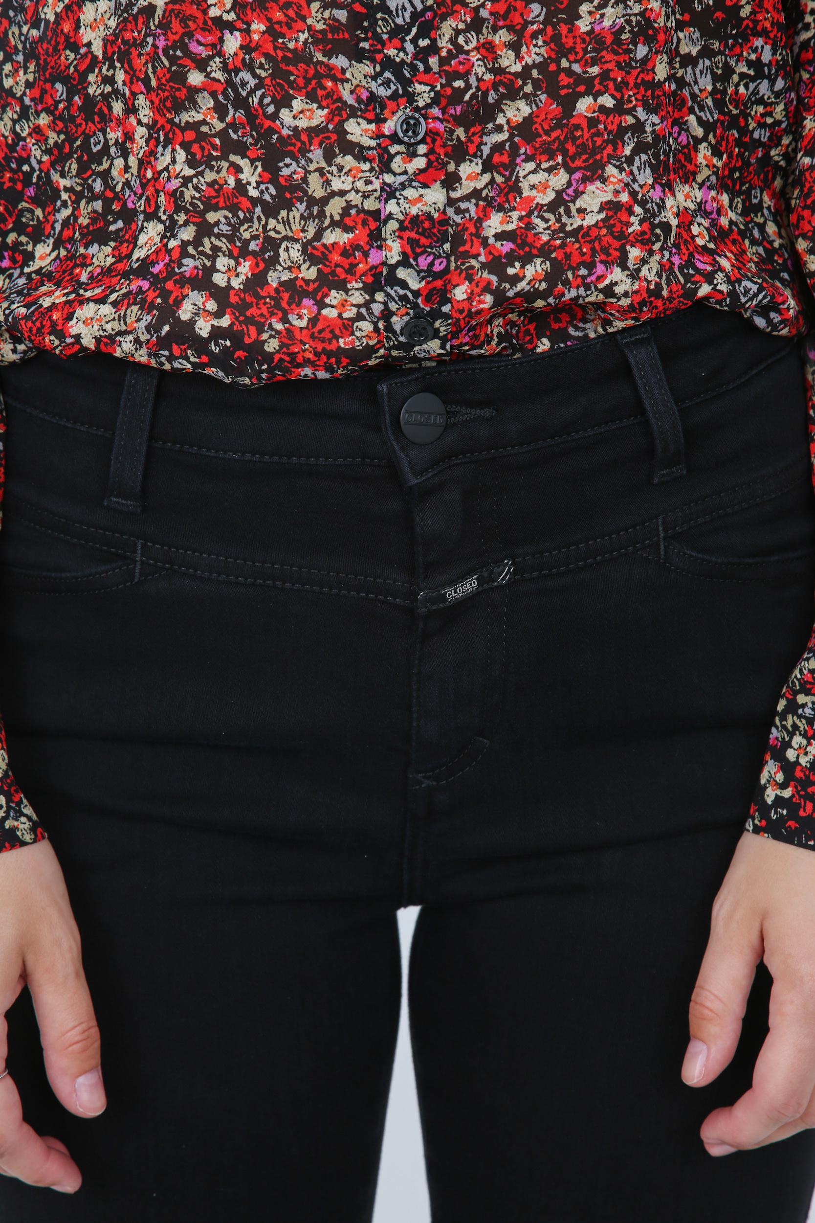 Jeans Skinny Pusher Power Stretch Black