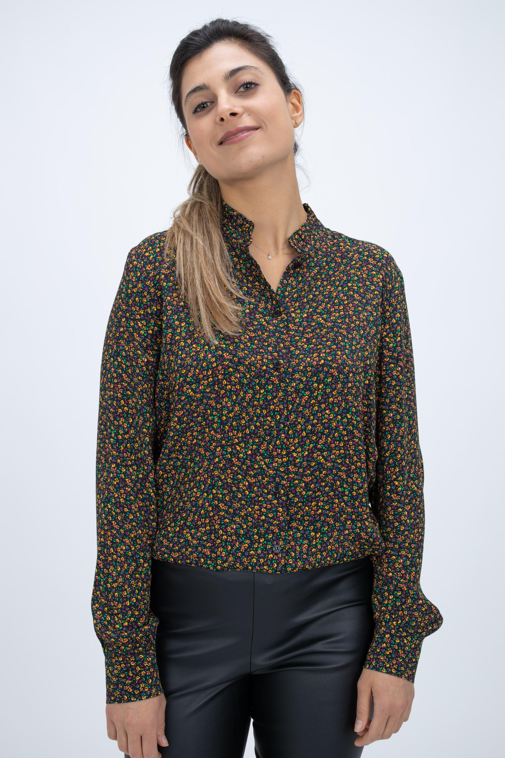 Bluse mit Floral-Print