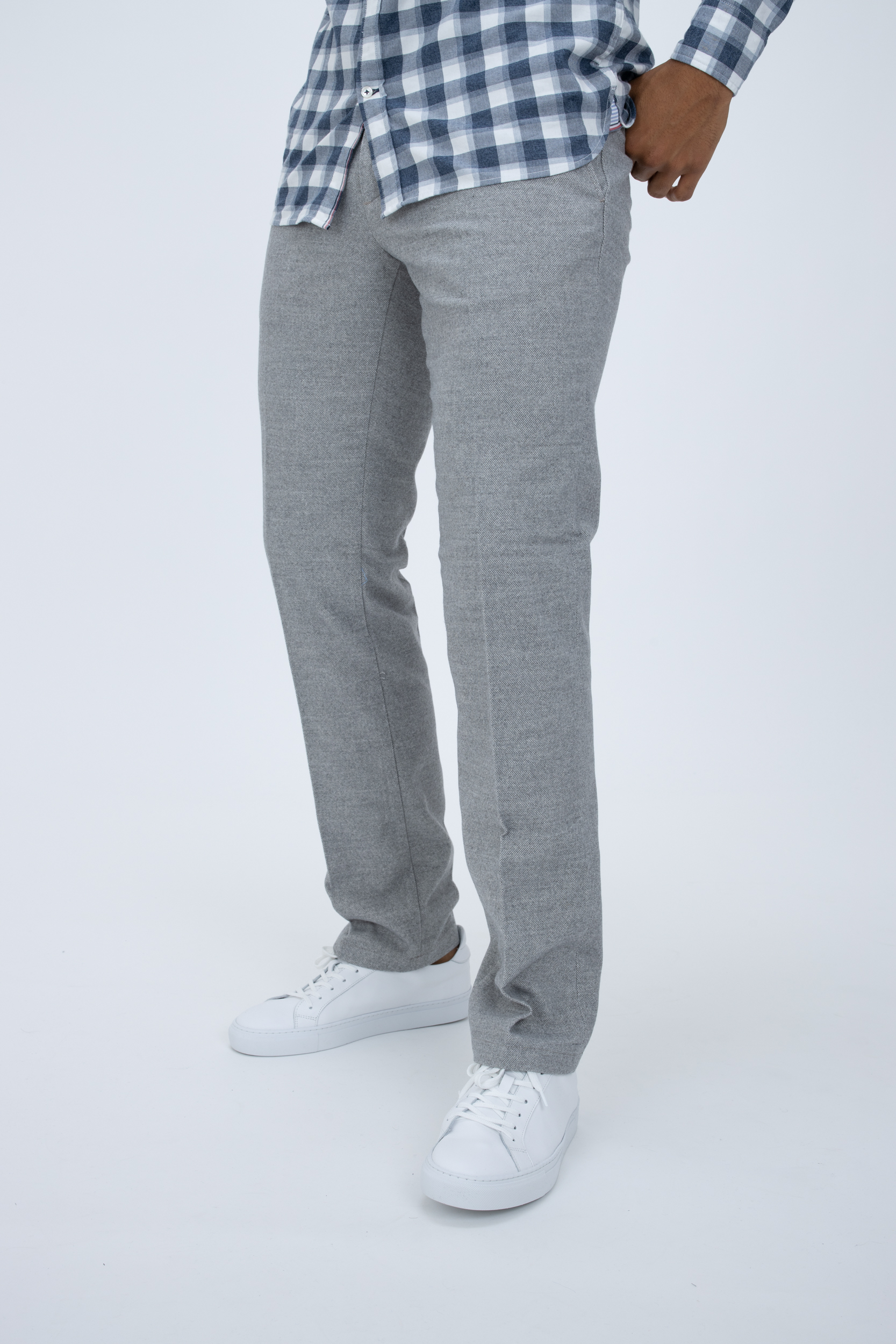 Chino Wool Look